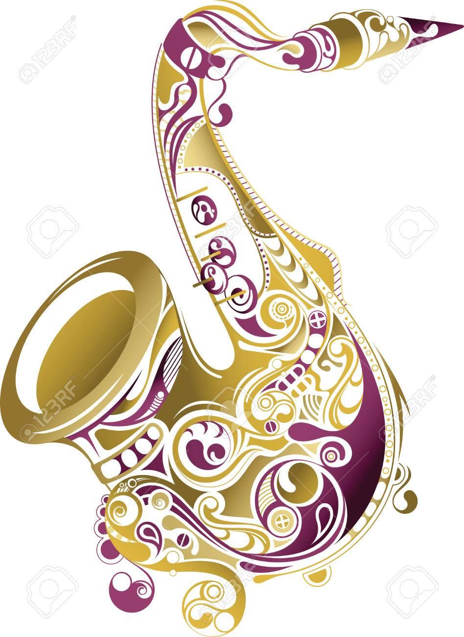 Saxophone Stock Vector - 7435187