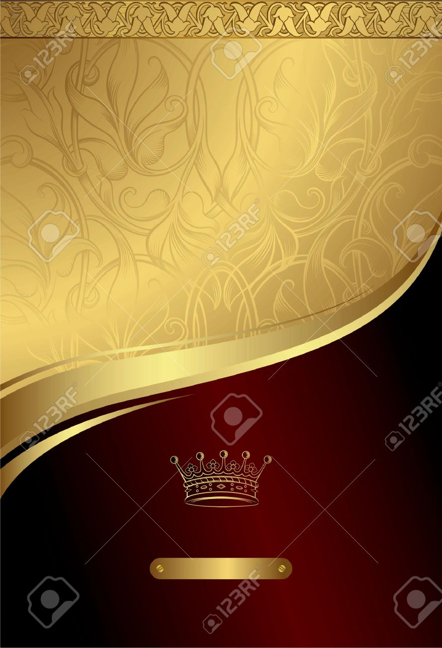 classic royal design background 3 royalty free cliparts vectors