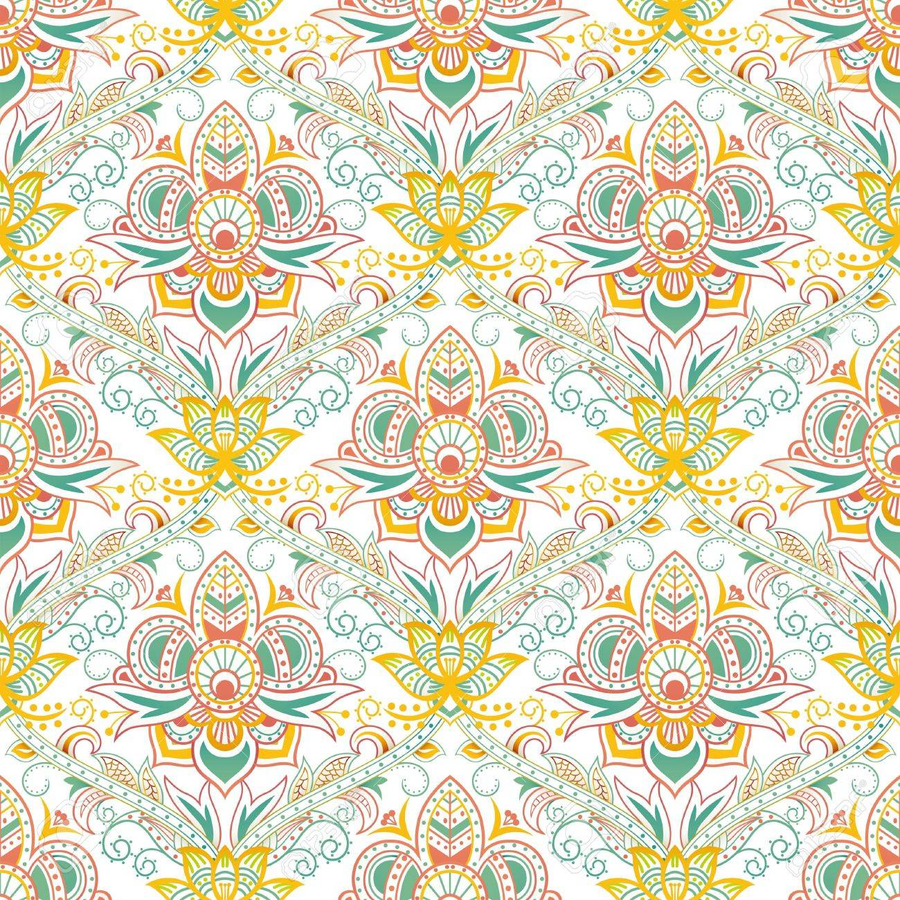 Seamless Floral Pattern 2 Stock Vector - 14905529