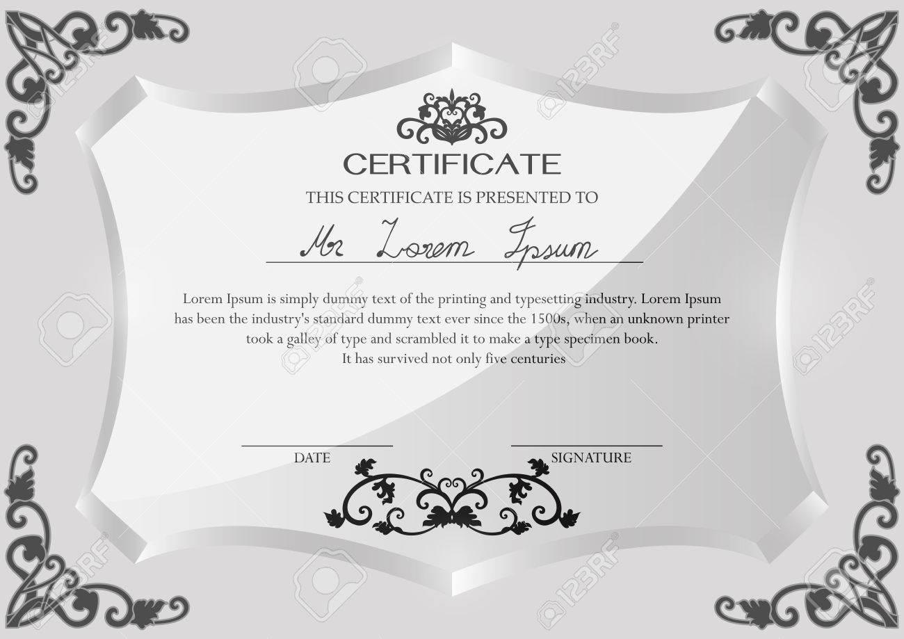 Ausgezeichnet Auszeichnungen Zertifikat Vorlage Wort Galerie ...