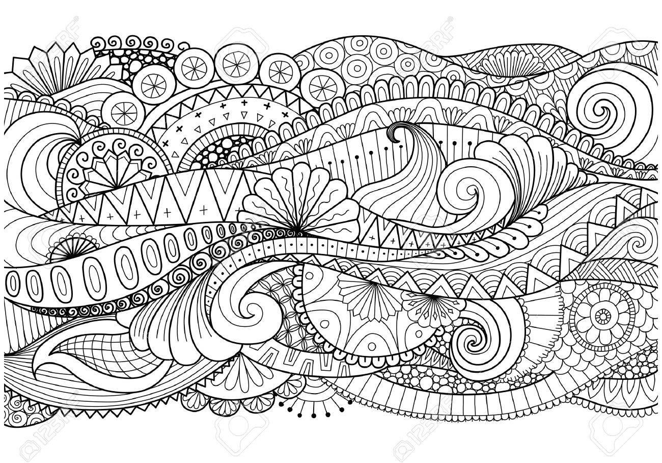 boho muster fr den hintergrund dekorationen banner malbuch karten und so weiter - Boho Muster