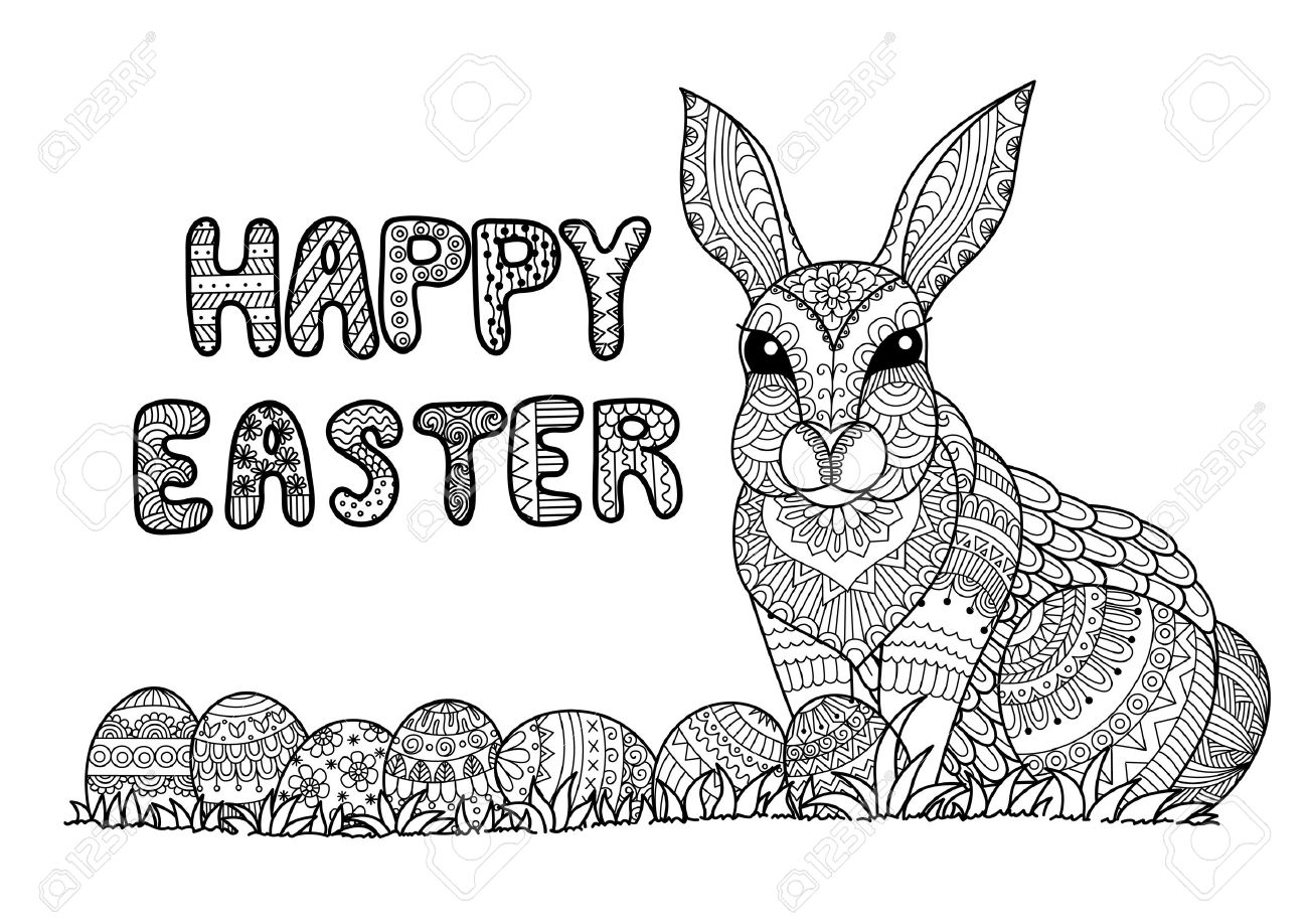 925 easter coloring page stock illustrations cliparts and royalty