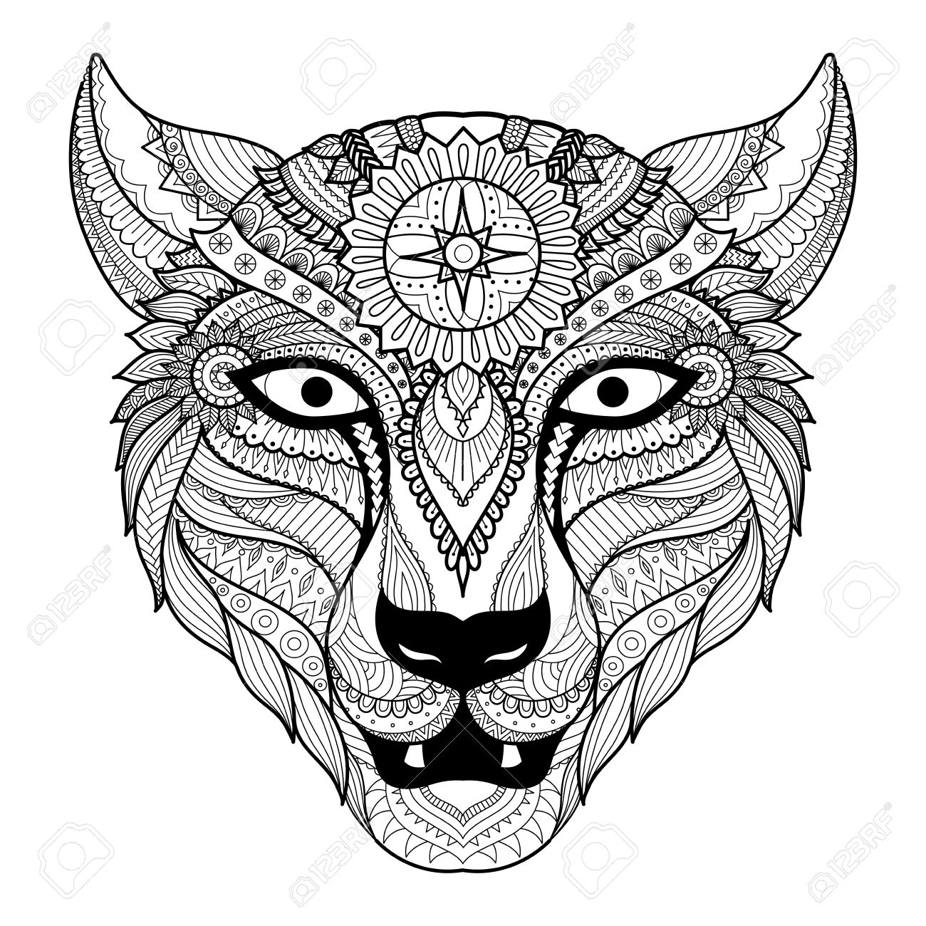 Leopardos Para Colorear. Elegant Dibujo Para Colorear Leopardo ...
