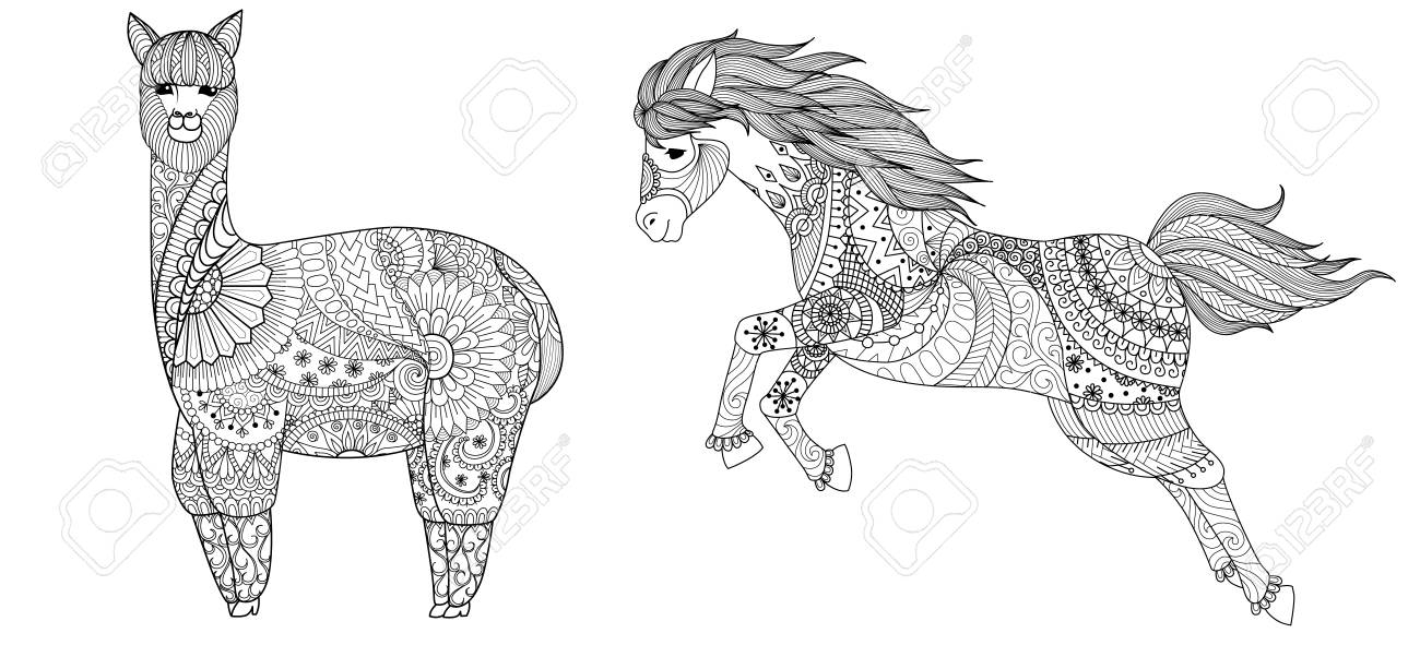 Horse Coloring Pages – coloring.rocks! | 602x1300