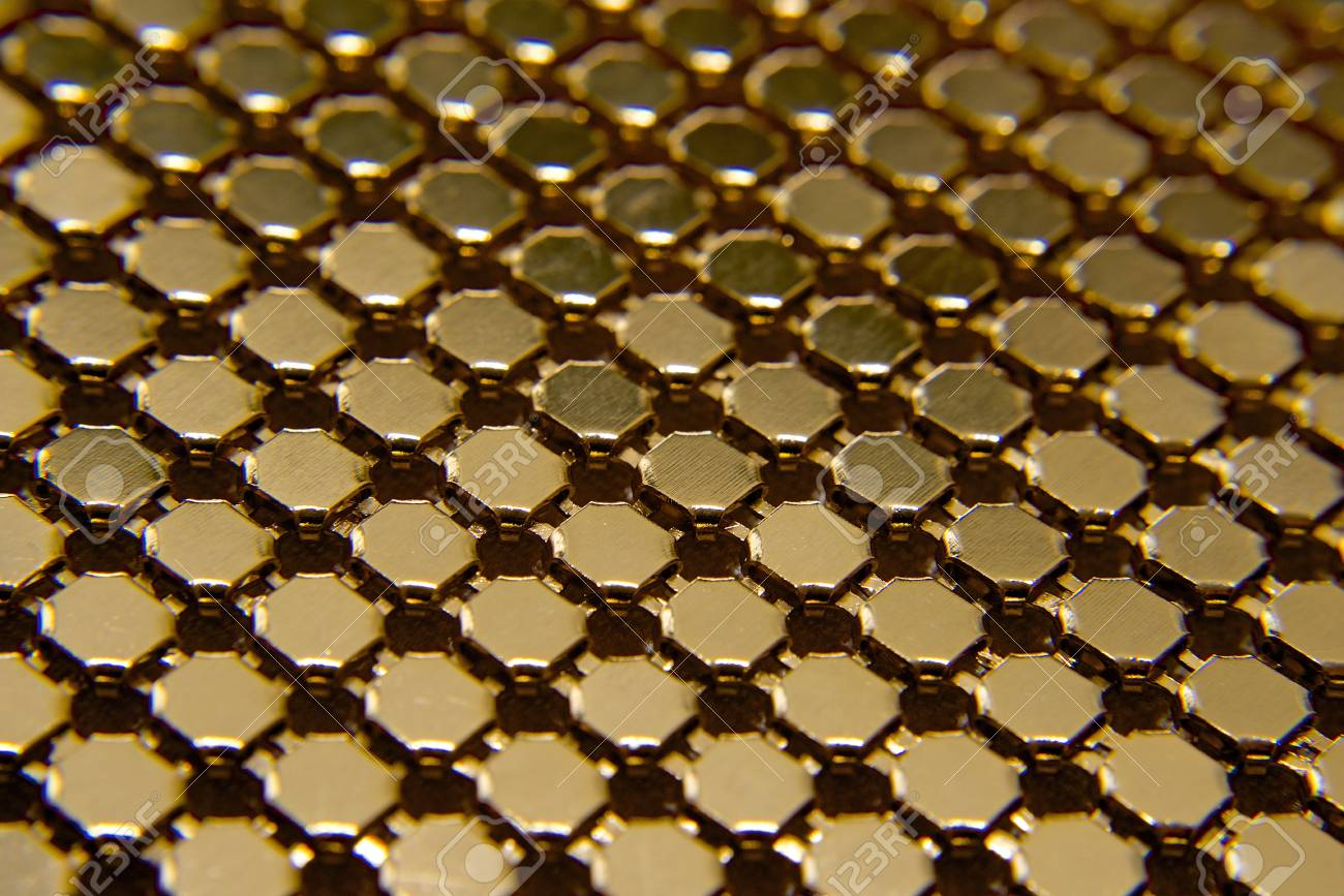 Background from golden metal Stock Photo - 17995270