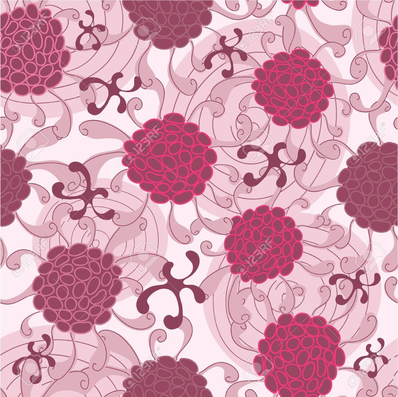 Purple abstract pattern Stock Vector - 21642536