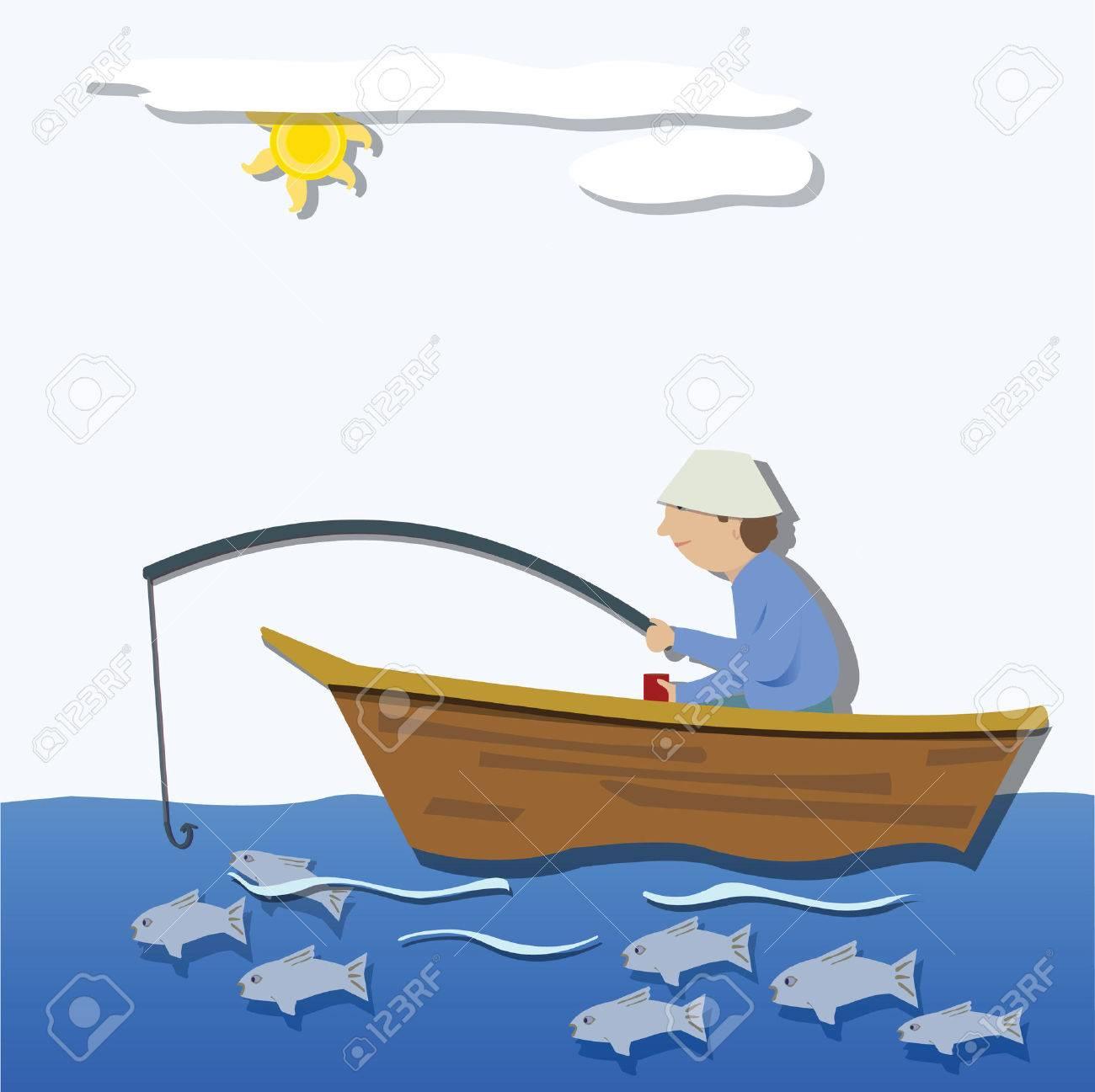 15 941 Fishing Boat Cliparts Stock Vector And Royalty Free Fishing