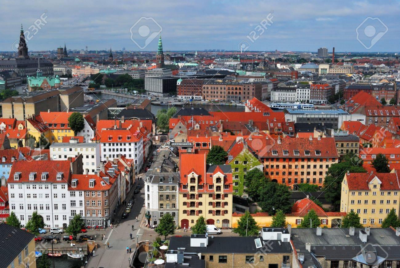 Copenhagen panoramic view Stock Photo - 13498346