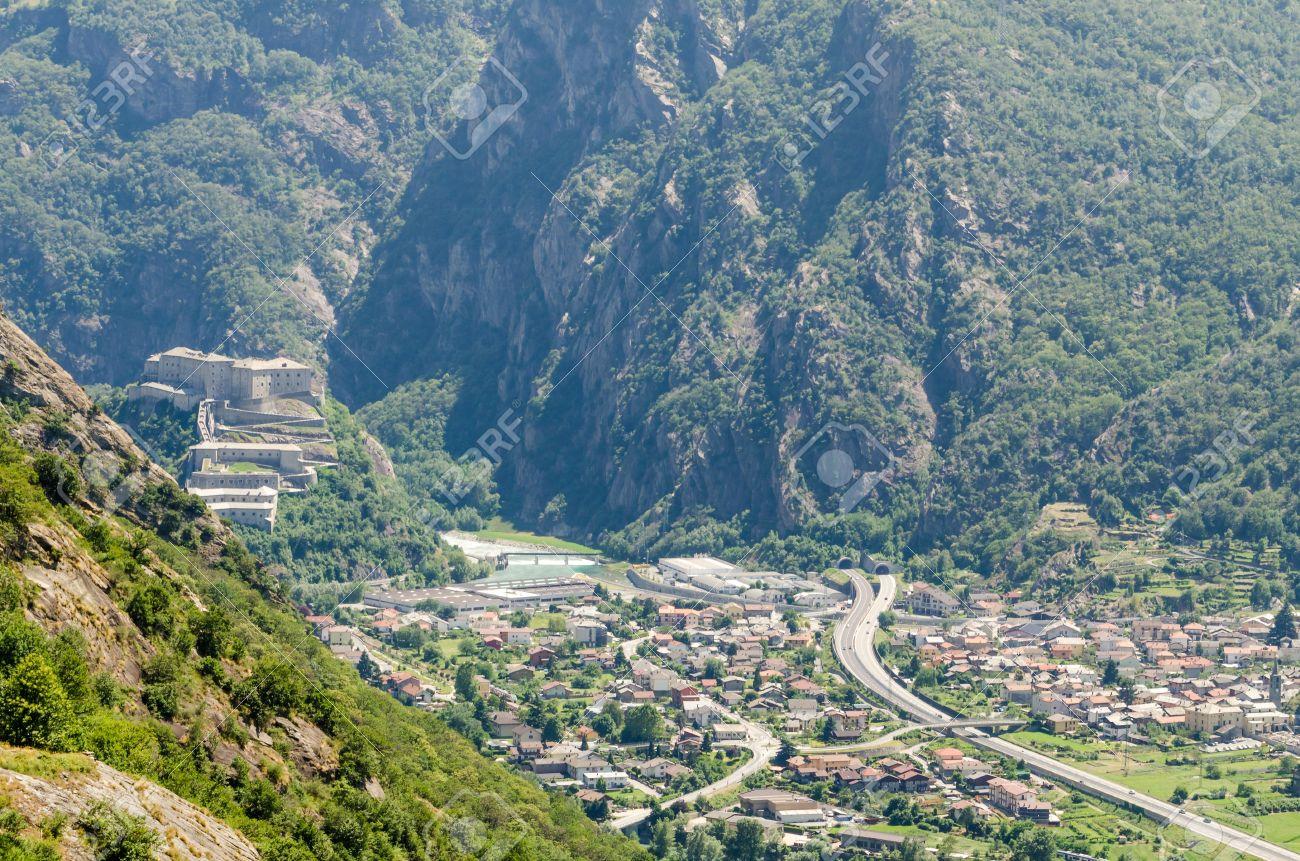 Fort Bard, Aosta Valley, Italy Stock Photo - 20749707