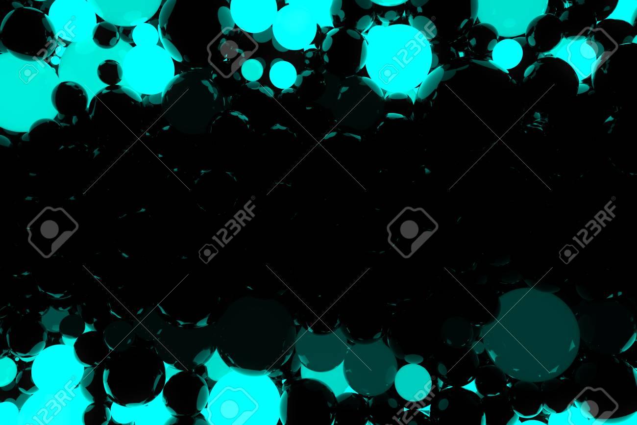 Abstrait Avec De Belles Boules Animees Rougeoyantes Bleues Animation De Boucle Parfaite Banque D Images Et Photos Libres De Droits Image 64992905