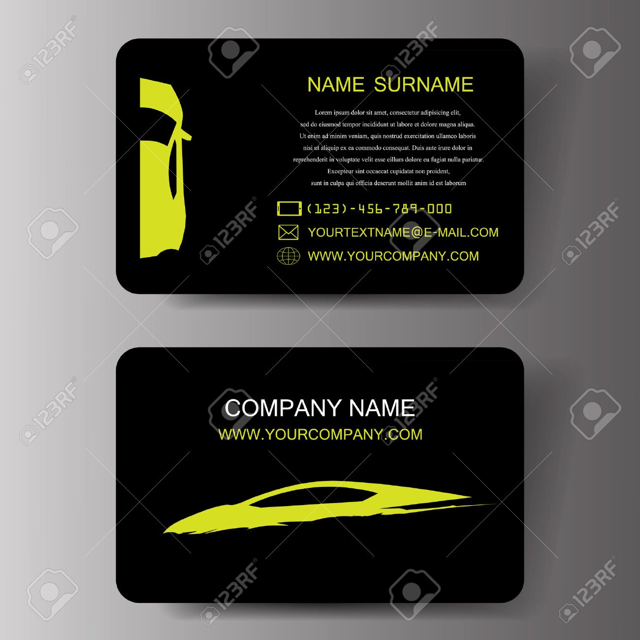 Business cards hollywood fl images free business cards automotive business cards business card loan officer resume car business cards illustration royalty free cliparts vectors magicingreecefo Images