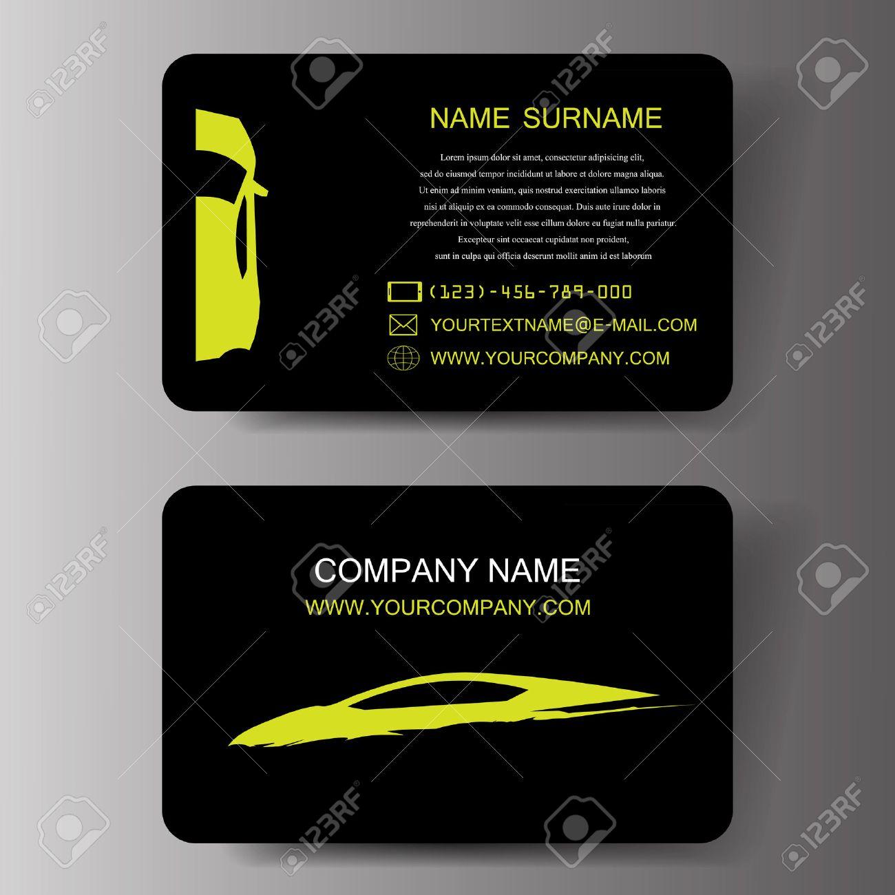 Car business cards illustration royalty free cliparts vectors and car business cards illustration stock vector 22445894 colourmoves
