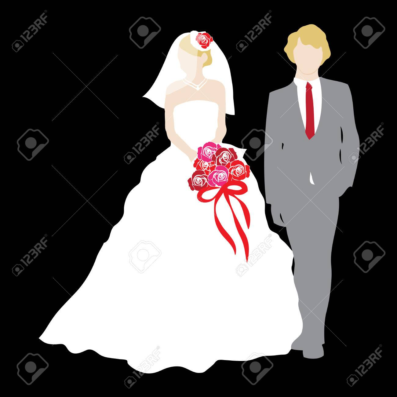 Just Married Wedding Couple - 22455906