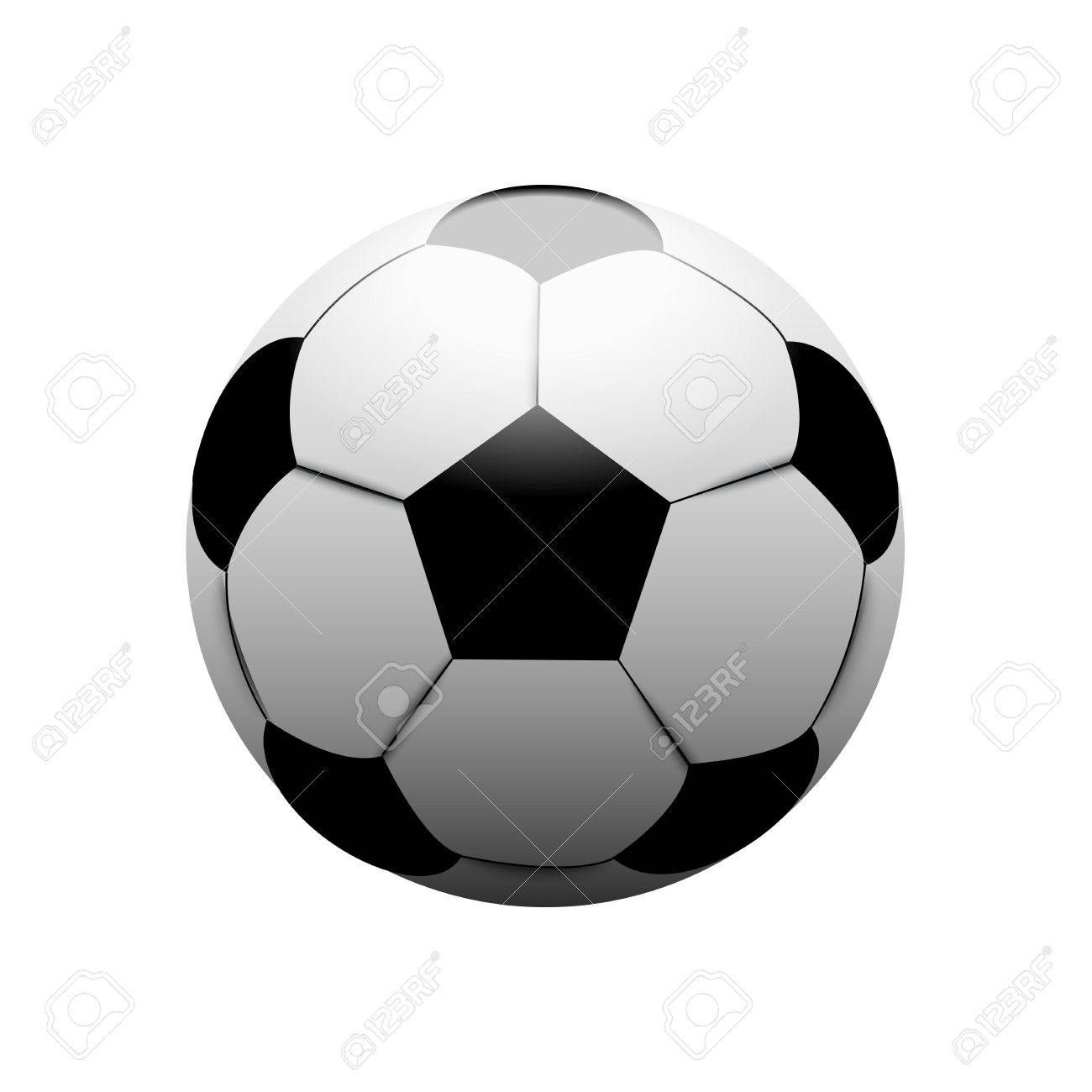 Football Soccer Ball Classic Royalty Free Cliparts 84d90a444a385