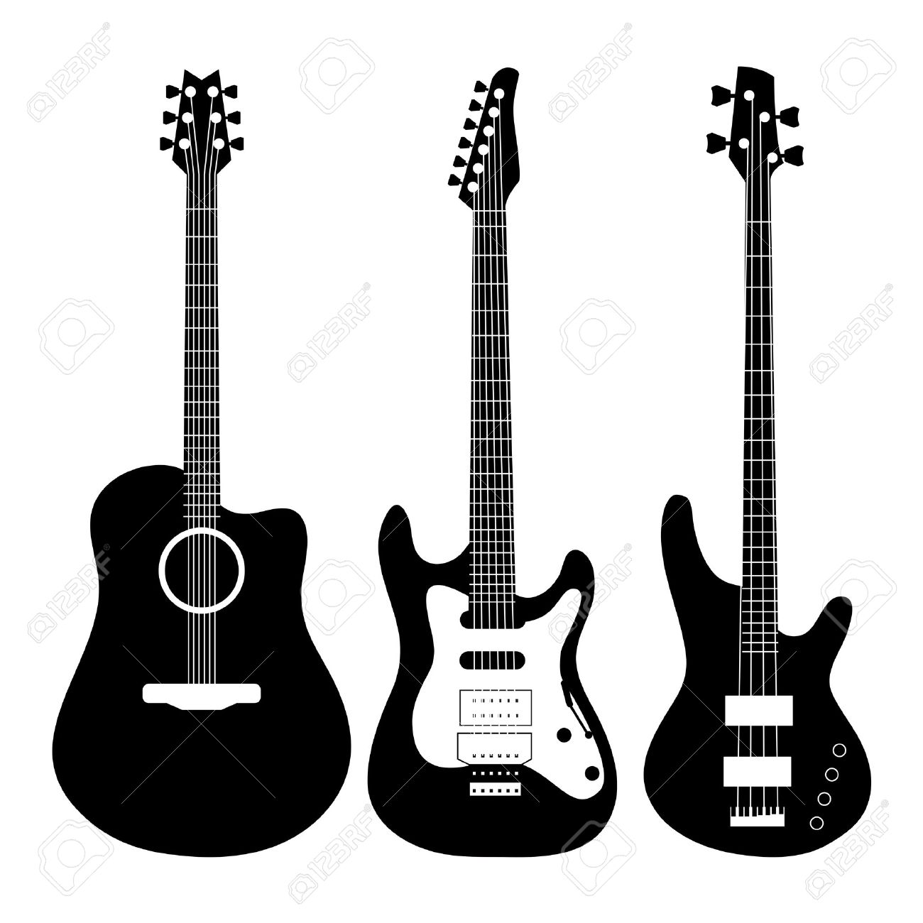 electric guitar vector royalty free cliparts vectors and stock rh 123rf com