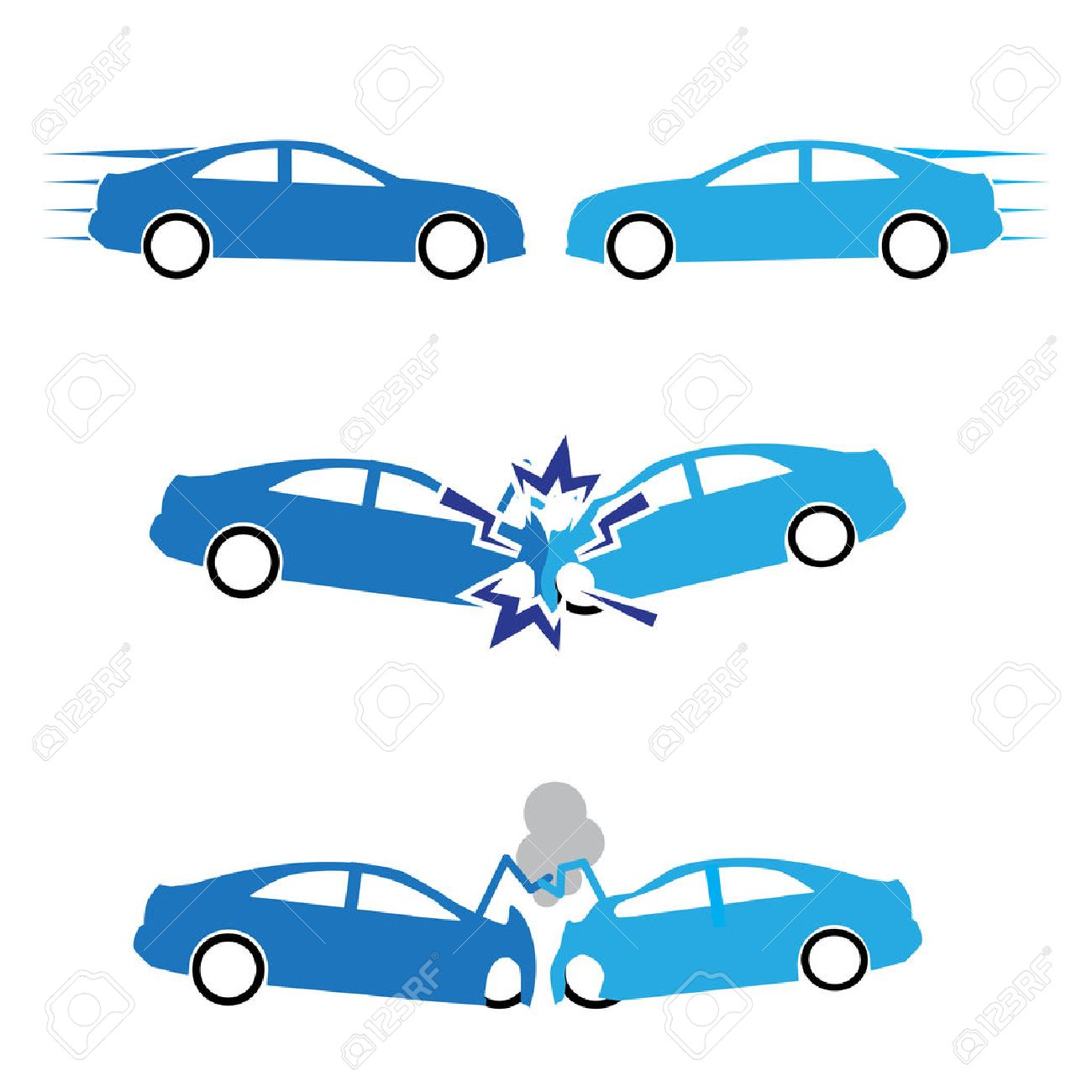 9,943 Car Accident Cliparts, Stock Vector And Royalty Free Car ...