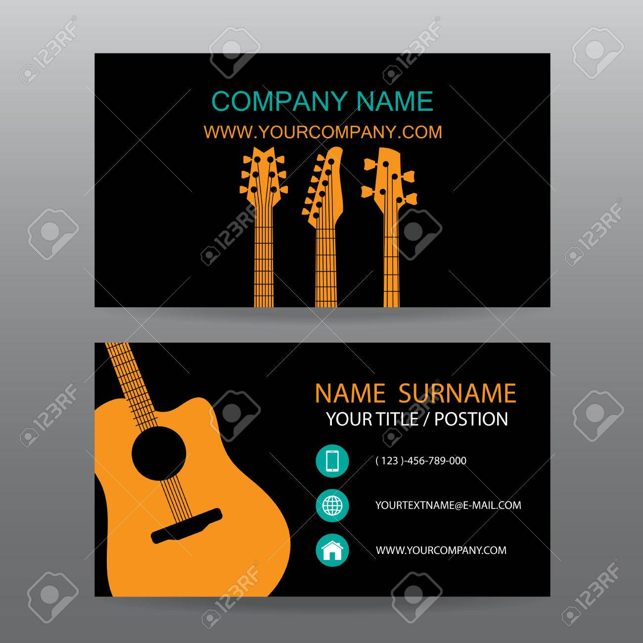 Business Card Vector Background,Musician Royalty Free Cliparts ...