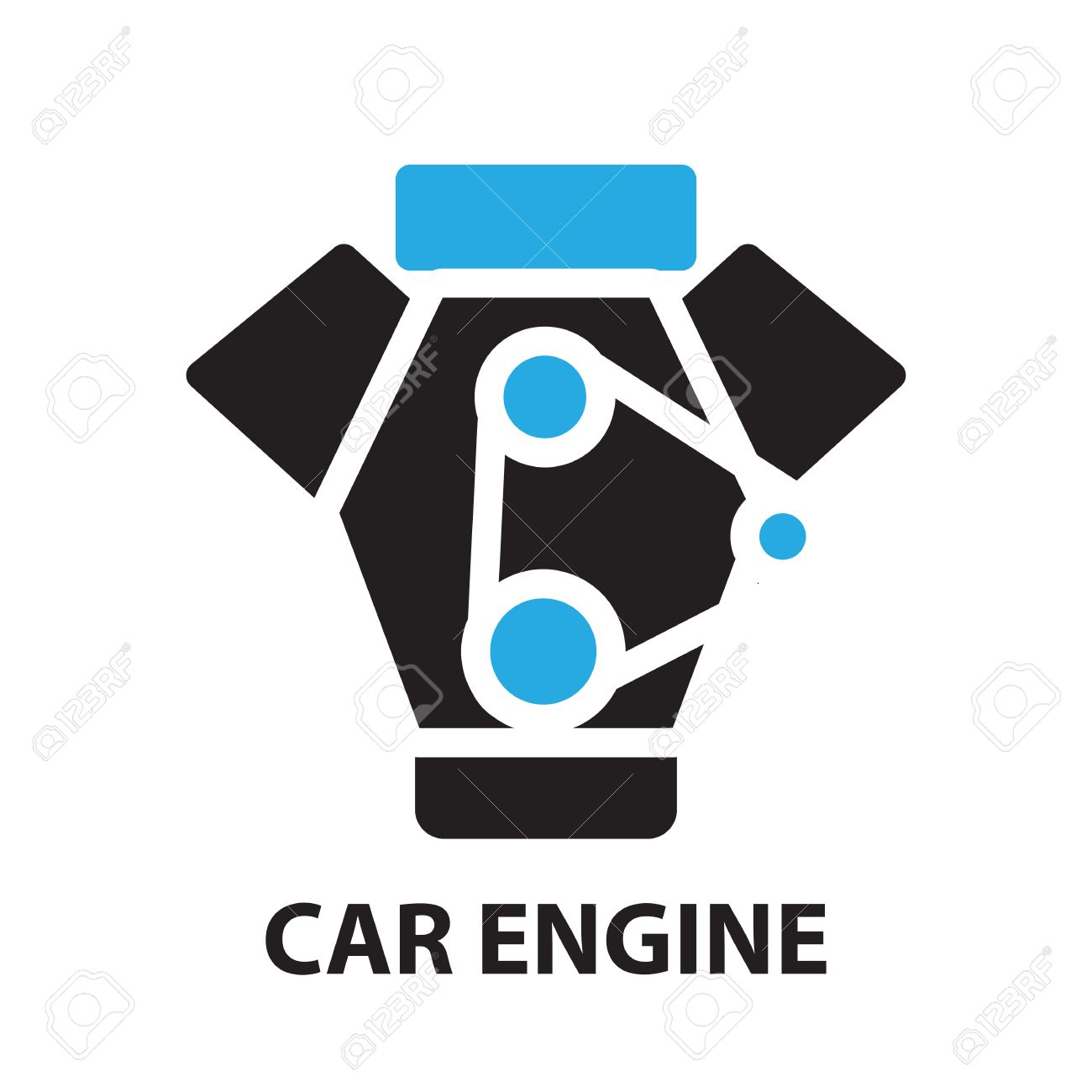 31,724 Car Engine Stock Vector Illustration And Royalty Free Car ...