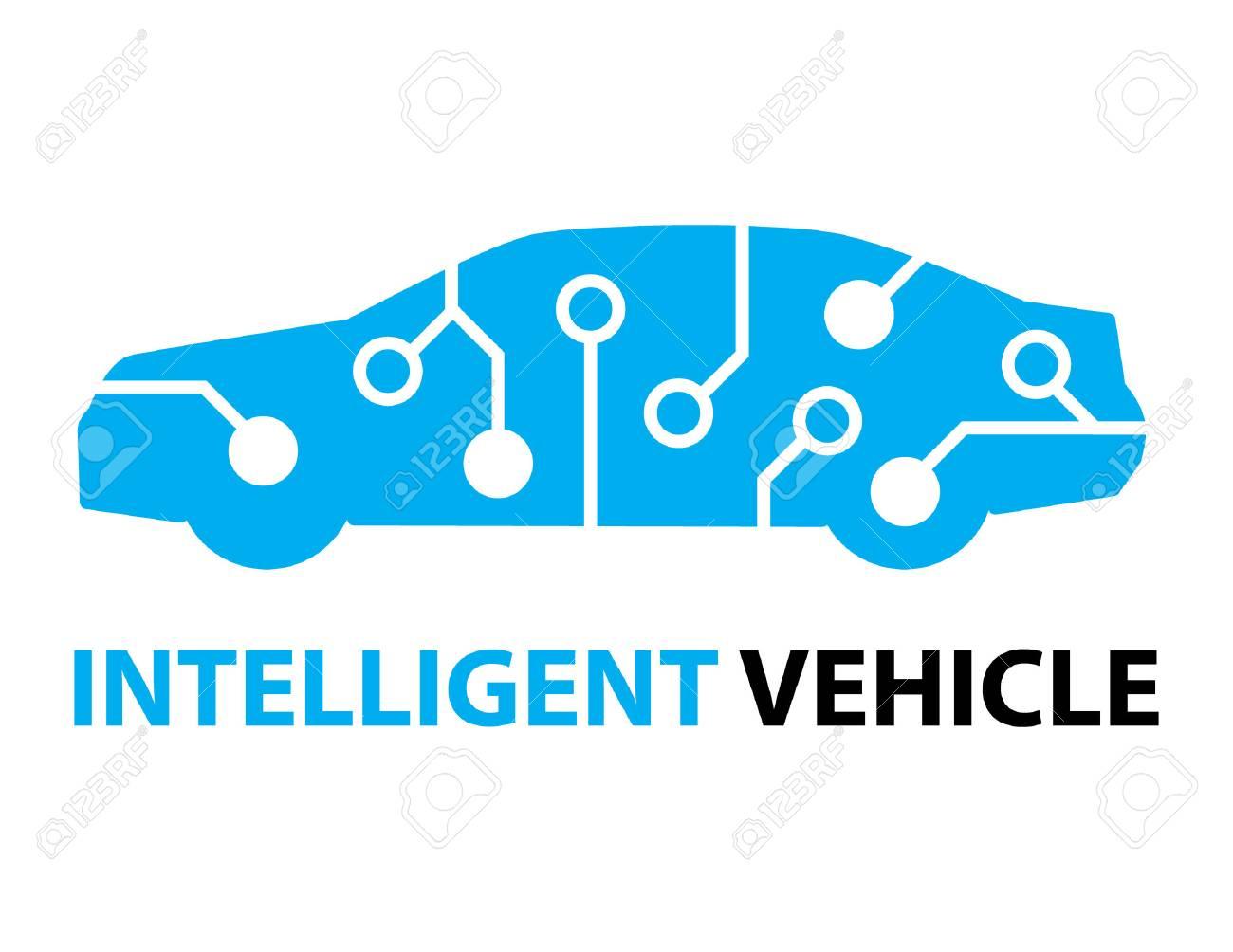 smart car,Intelligent Vehicle icon and symbol - 63399416