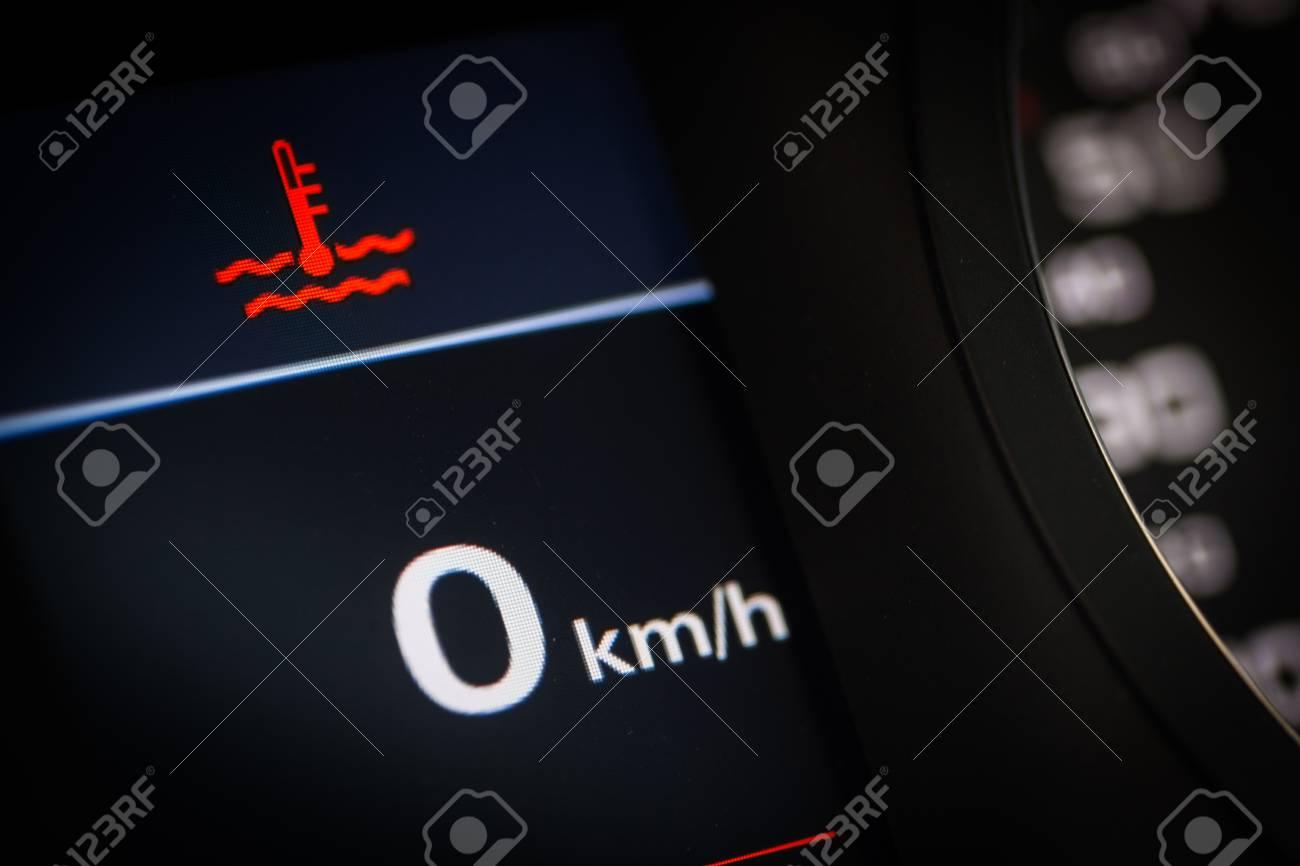 Color detail of the coolant temperature symbol in a car stock color detail of the coolant temperature symbol in a car stock photo 56409888 biocorpaavc Choice Image
