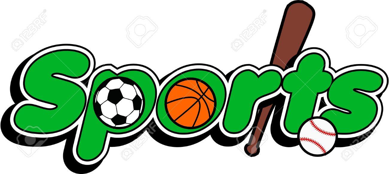 sports logo baseball basketball football royalty free cliparts