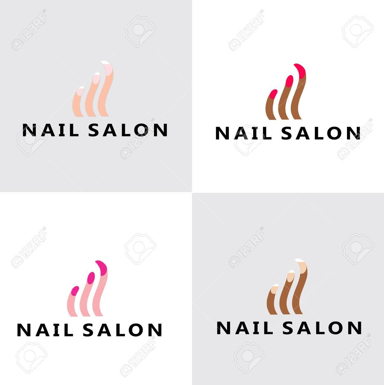 Nail Salon Logo Royalty Free Cliparts Vectors And Stock