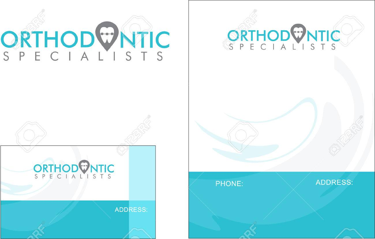 Medical, Business Card Design And Broschure Royalty Free Cliparts ...