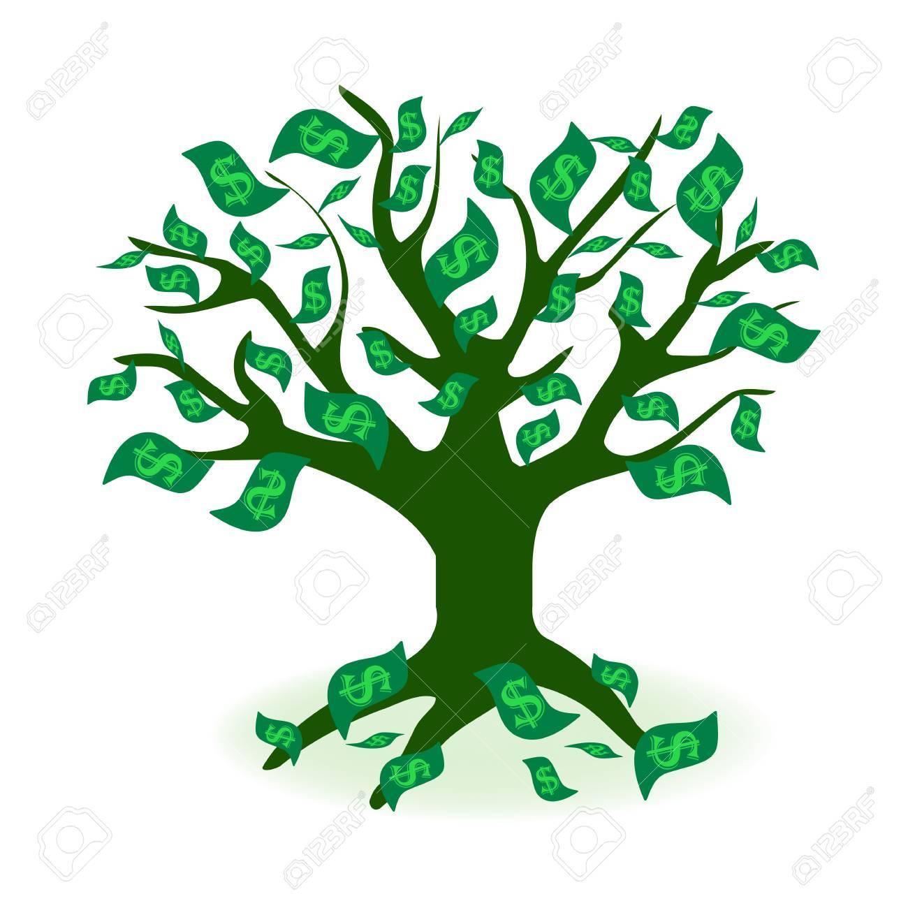 money tree prosperity symbol logo money tree icon symbol design