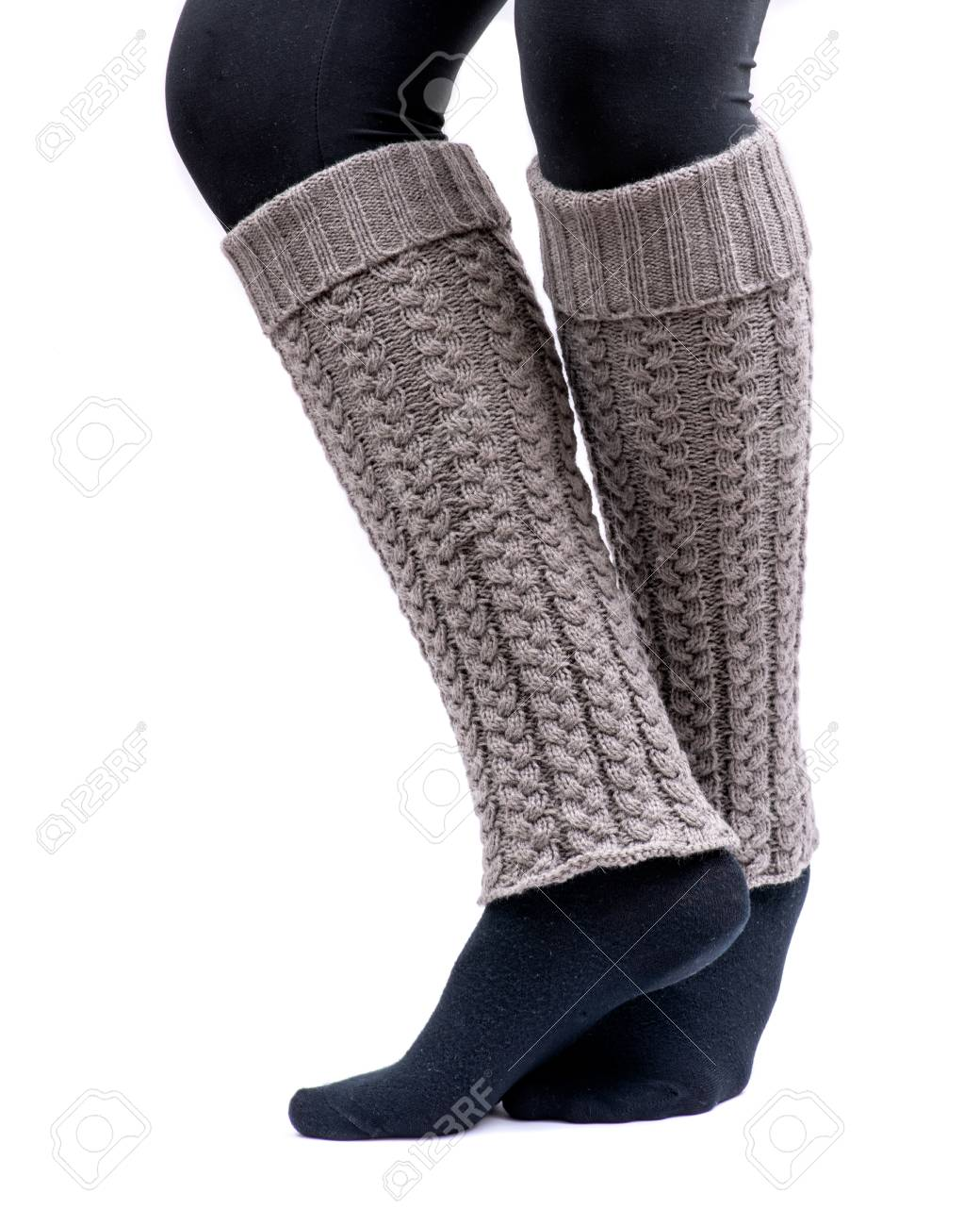Wear to what with white leg warmers