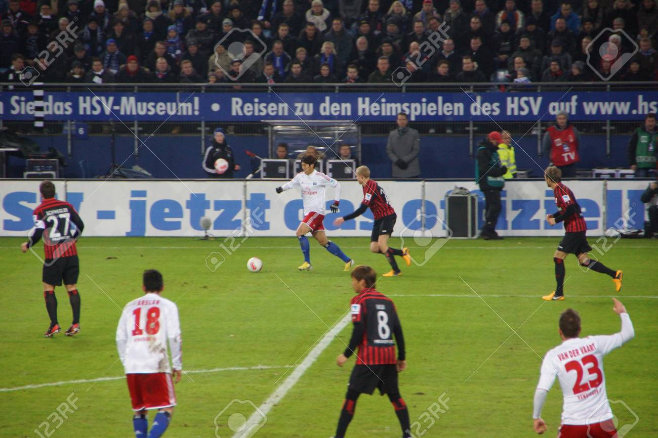 Footage From The Football Game Hsv Hamburg Vs Eintracht Frankfurt Stock Photo Picture And Royalty Free Image Image 17951553