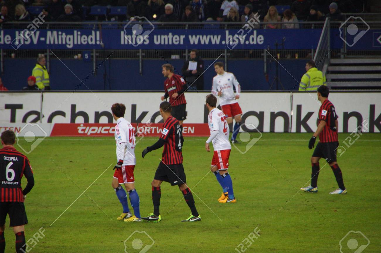 The Football Player From The Team Hamburger Sportverein Hsv Hamburg Stock Photo Picture And Royalty Free Image Image 17809758