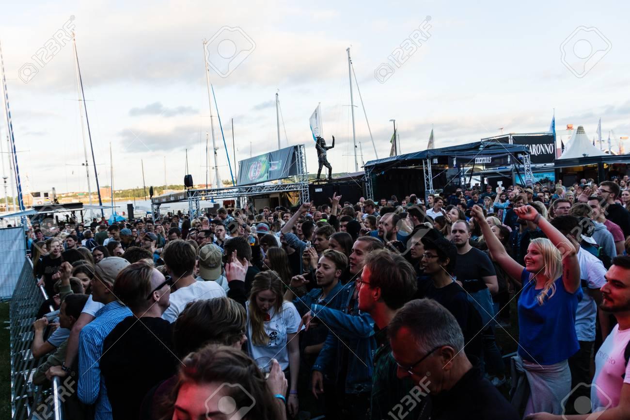 Kiel Deutschland 17 Juni 2017 Dj Schönheit Und Die Beats Im