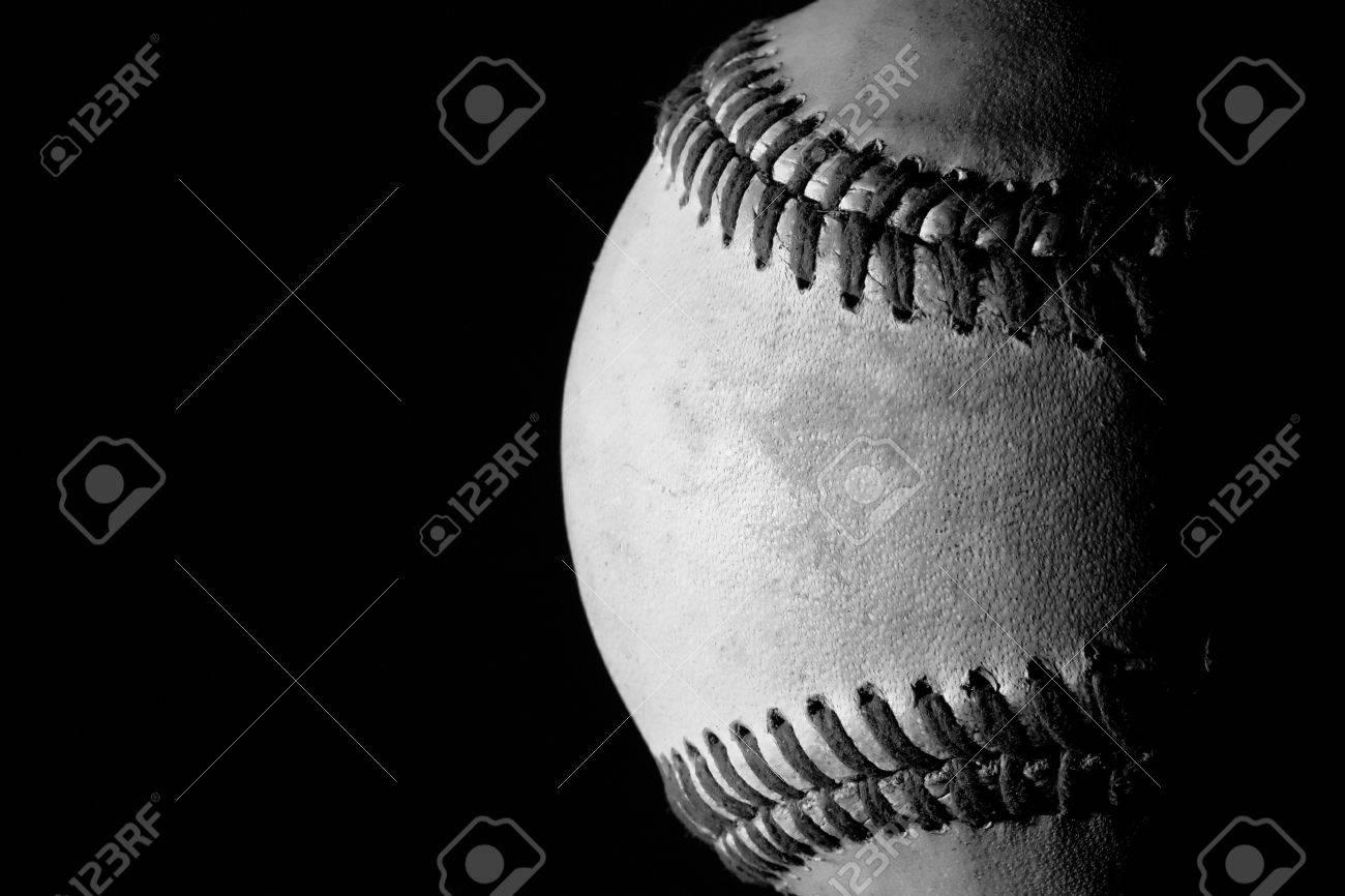 Baseball Black And White Photography