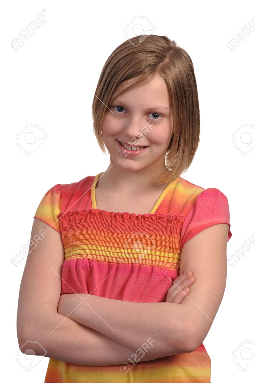 pre-teen nude pre teen girls: Picture of a young pretty pre teen girl