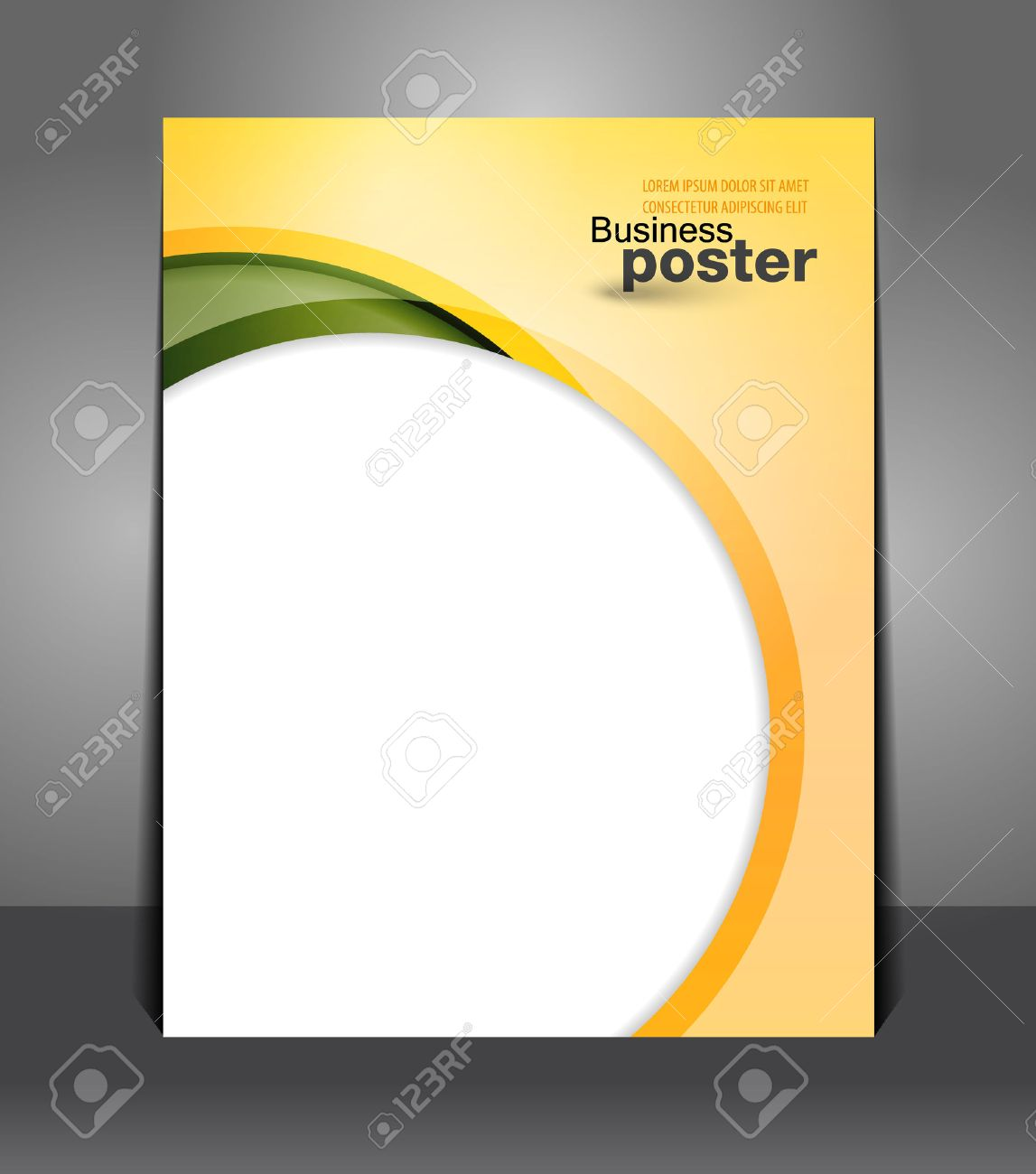 stylish presentation of business poster flyer design content stylish presentation of business poster flyer design content design layout template stock vector