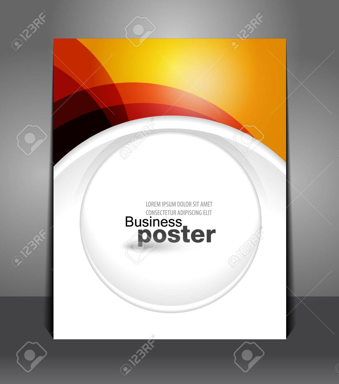 Plakat Designer   Stilvolle Prasentation Und Designer Von Business Plakat Flyer