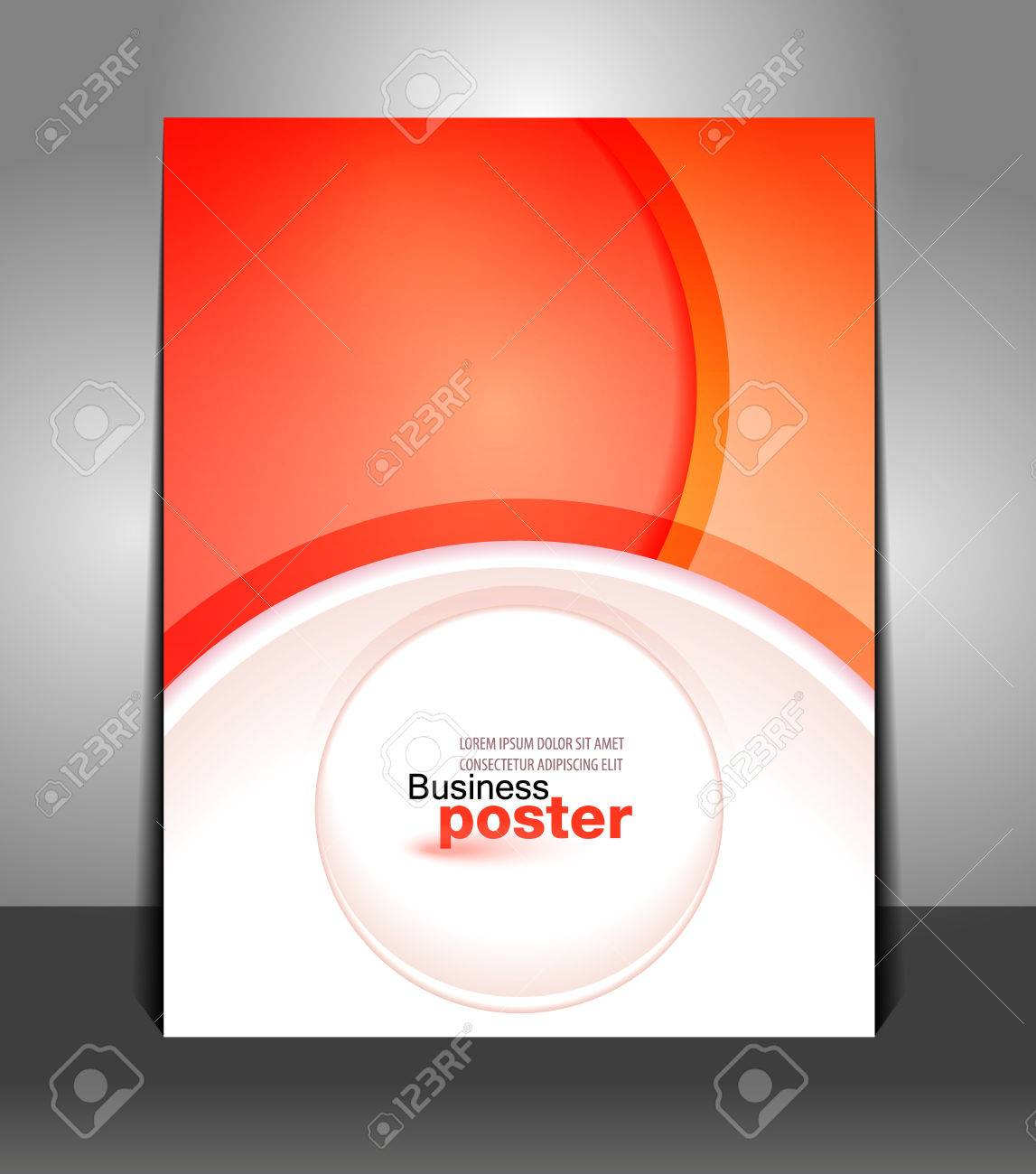 Poster design layout templates - Stylish Presentation Of Business Poster Flyer Design Content Background Design Layout Template Stock Vector