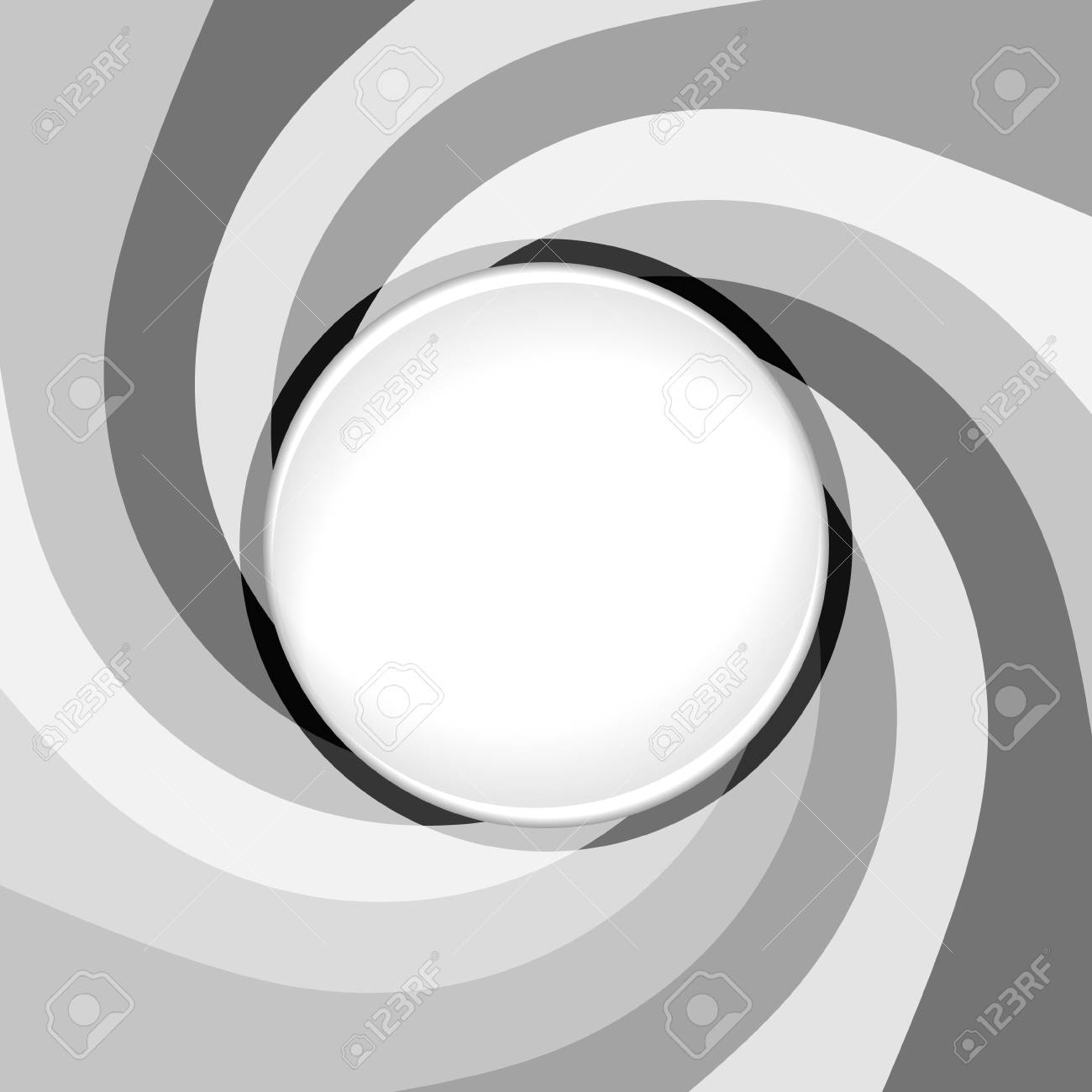 Abstract gray background with whirlpool. Place for your text. Stock Vector - 25402952