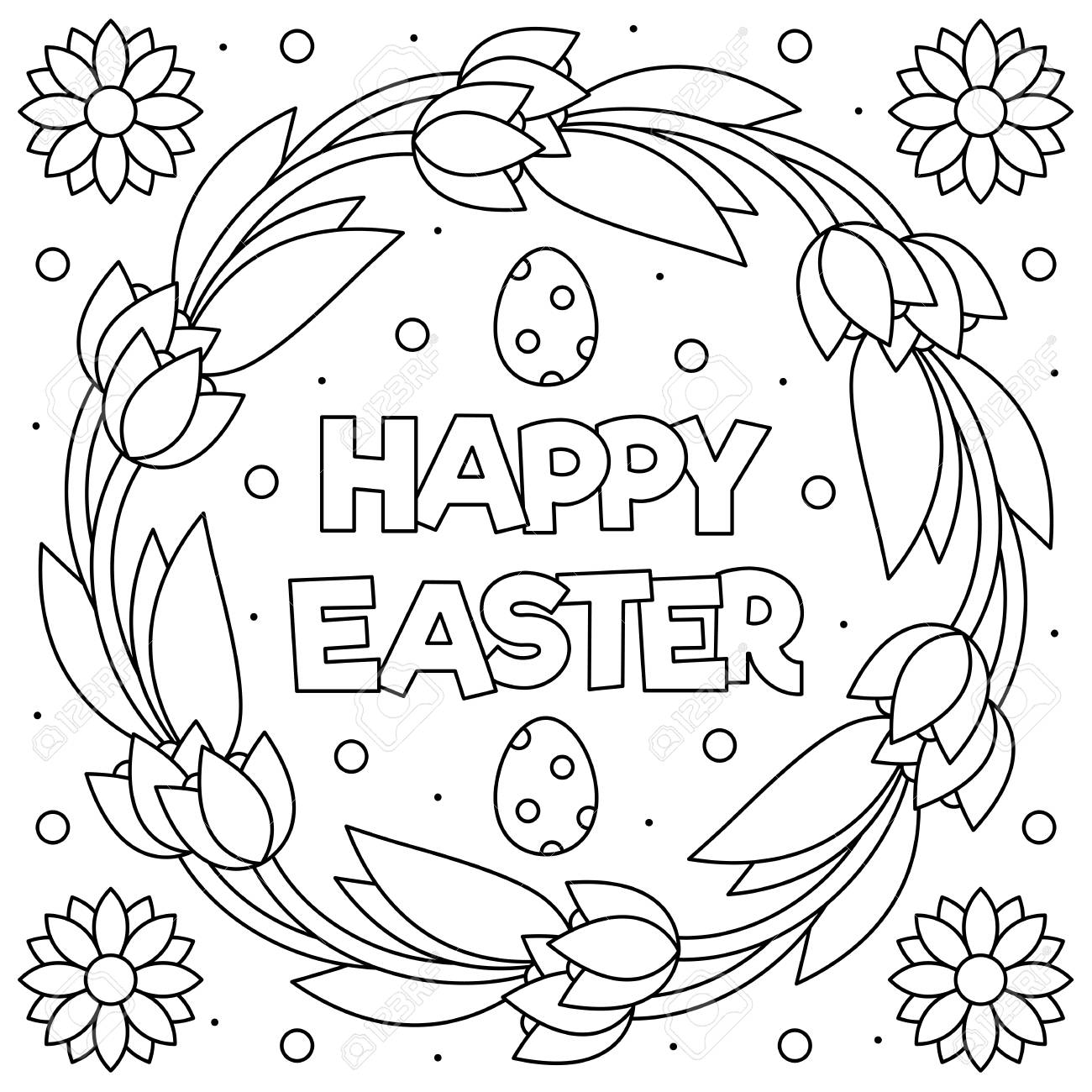 Happy Easter, - Free-N-Fun Easter from Oriental Trading | 1300x1300