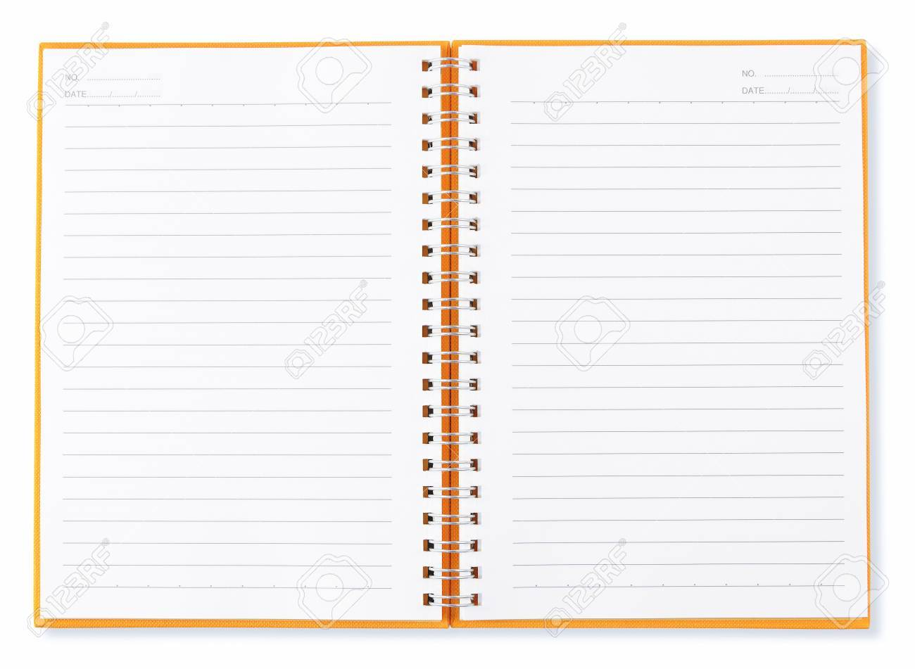 open blank page of note book Stock Photo - 8313400