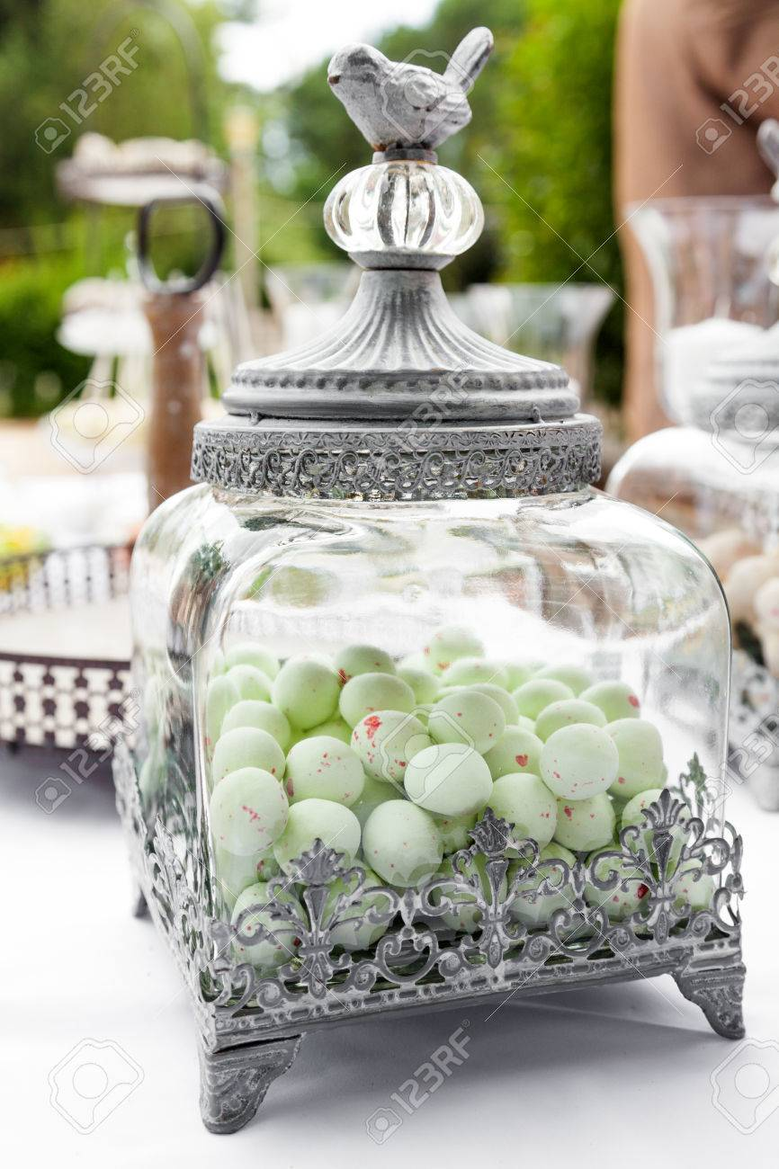 Candy Bar At Wedding Reception Stock Photo Picture And Royalty Free