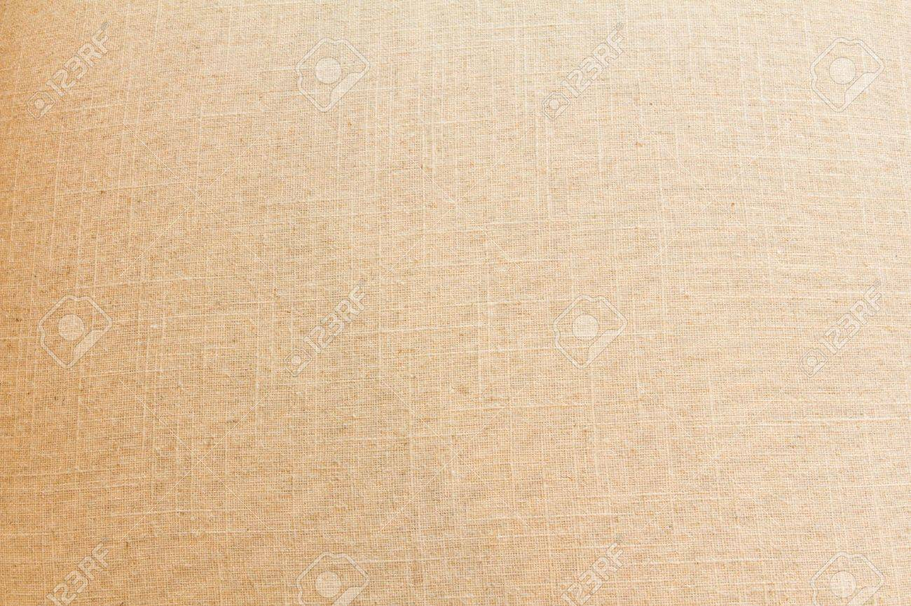 Canvas texture fabric with vignette Natural linen striped uncolored textured sacking burlap background Stock Photo - 14549735