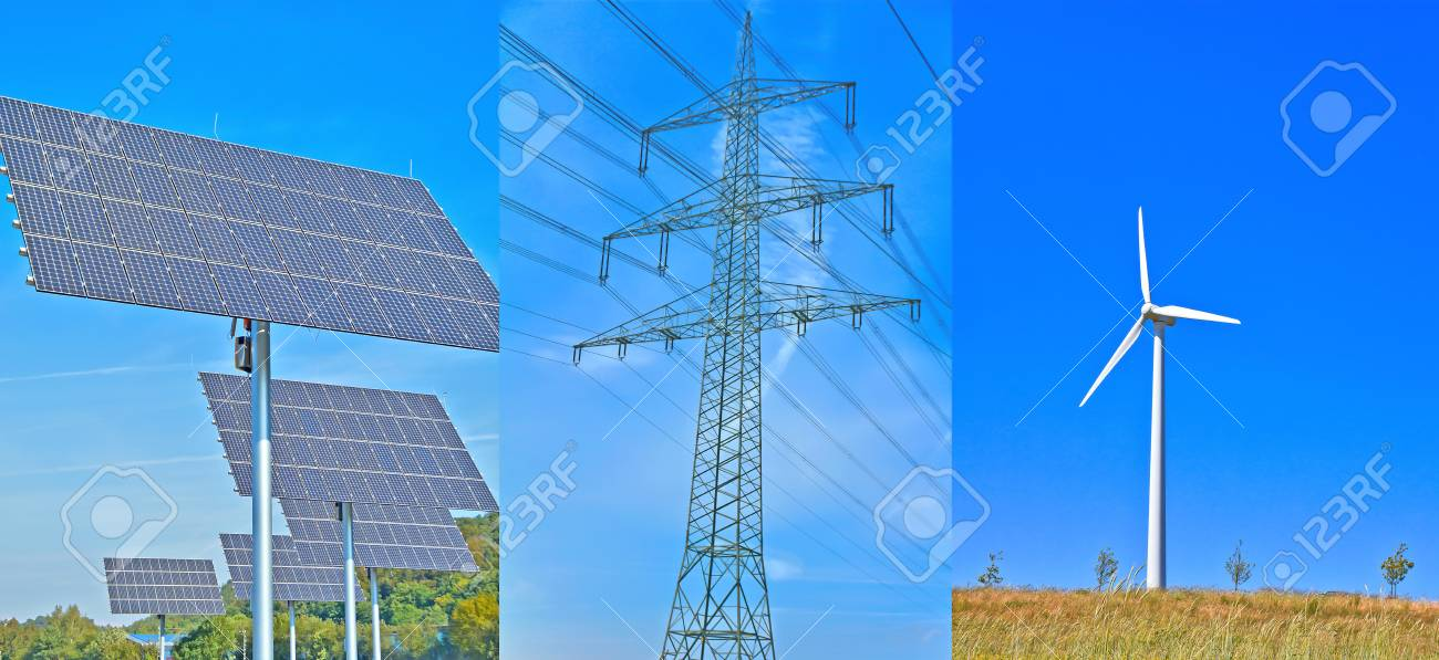 Green Electricity Stock Photo - 14028093