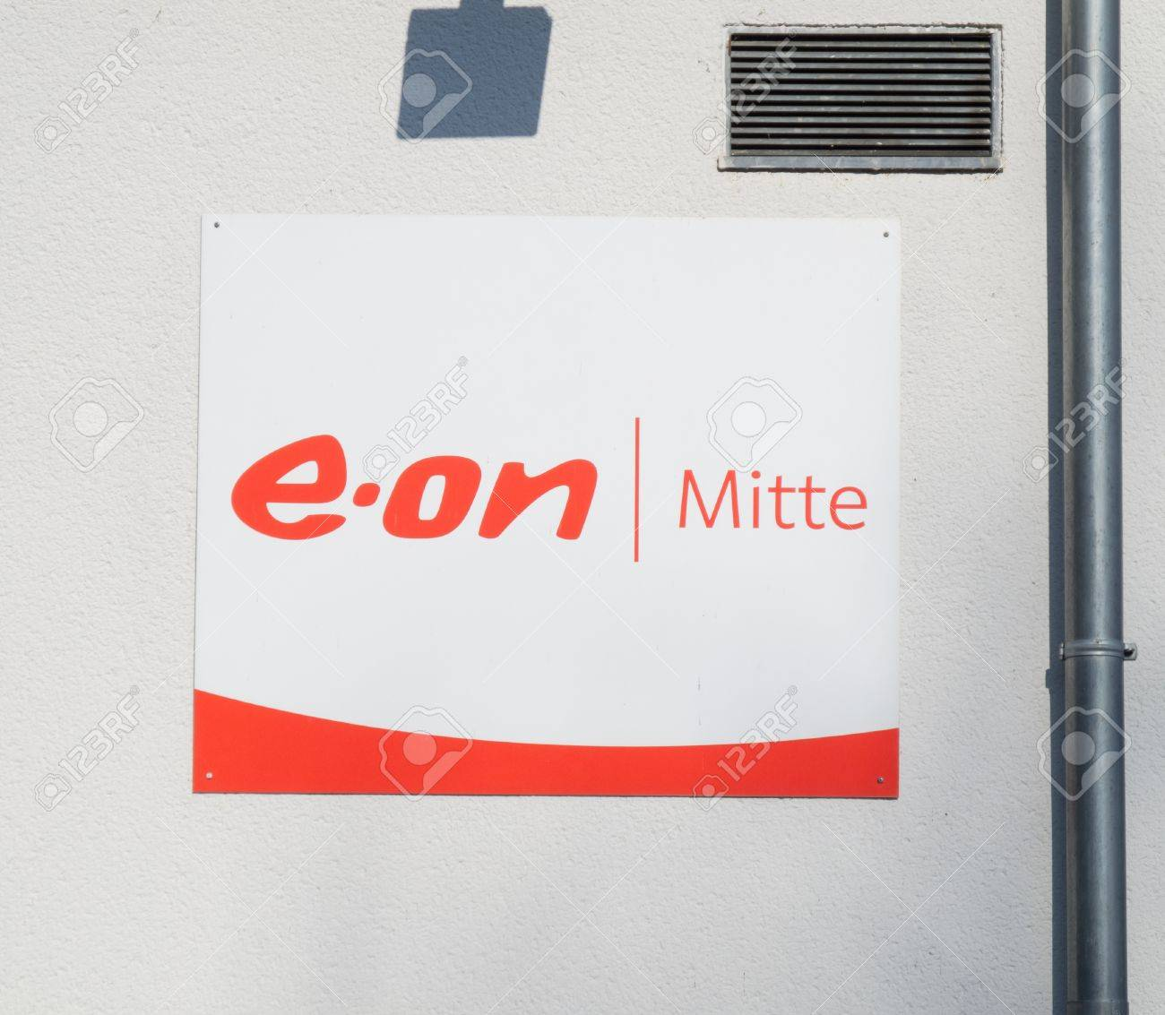 E.ON Mitte (located in Kassel) is a regional (Hesse) power utility and part of E.ON AG, the world's largest investor-owned electric utility service provider based in Duesseldorf, North Rhine-Westphalia, Germany. Stock Photo - 15054544