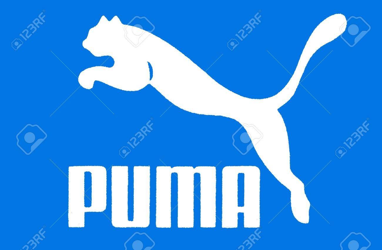 Blue Puma Logo