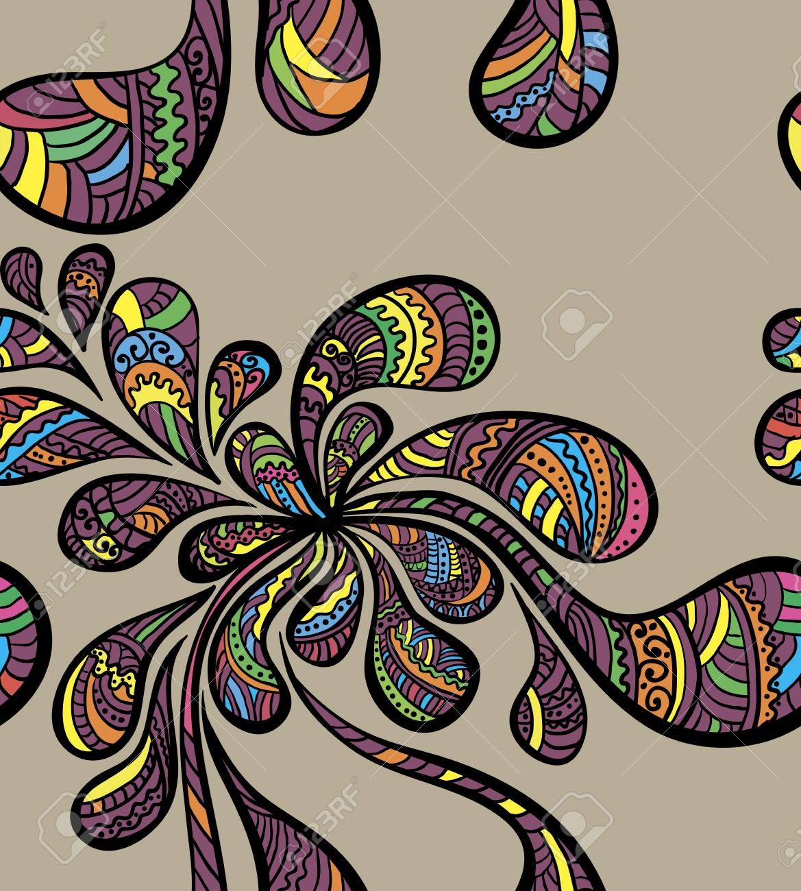Seamless paisley pattern Stock Vector - 14575778
