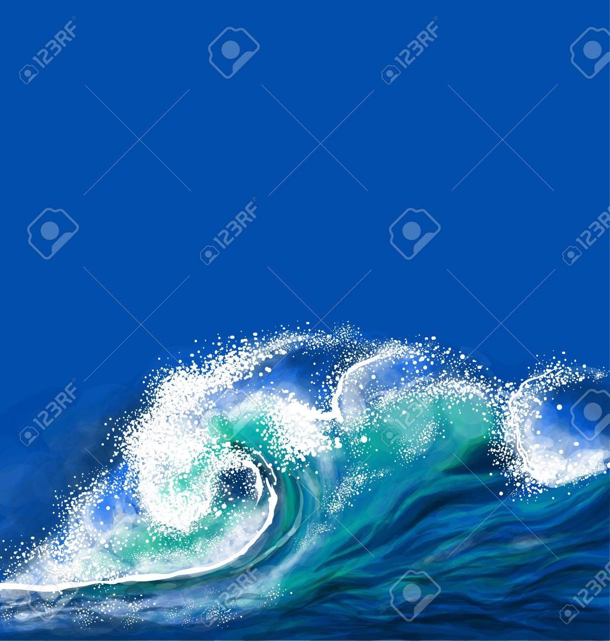Ocean wave - 19607058