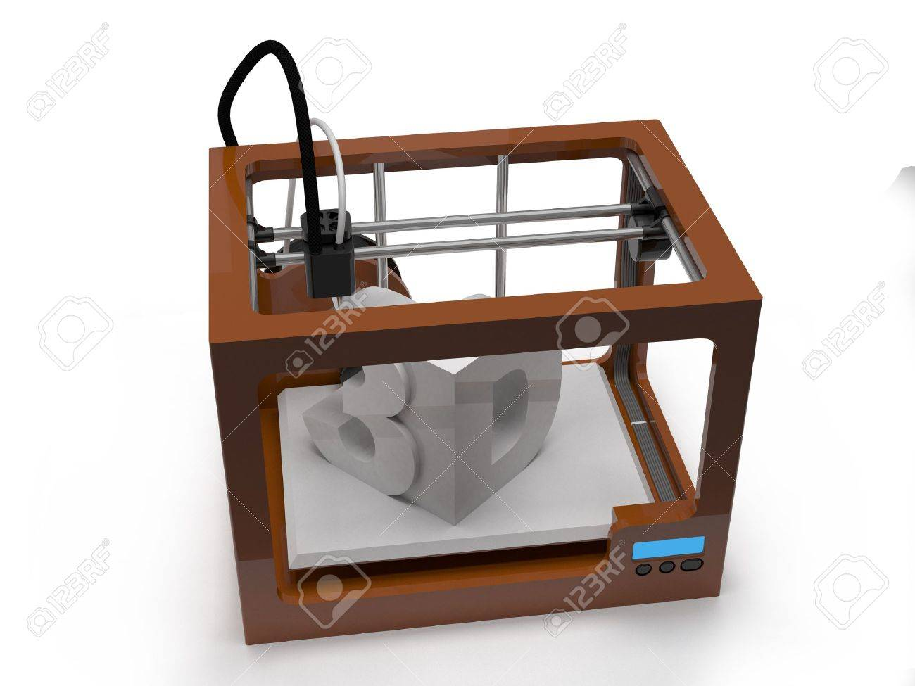3D printer Stock Photo - 20435928