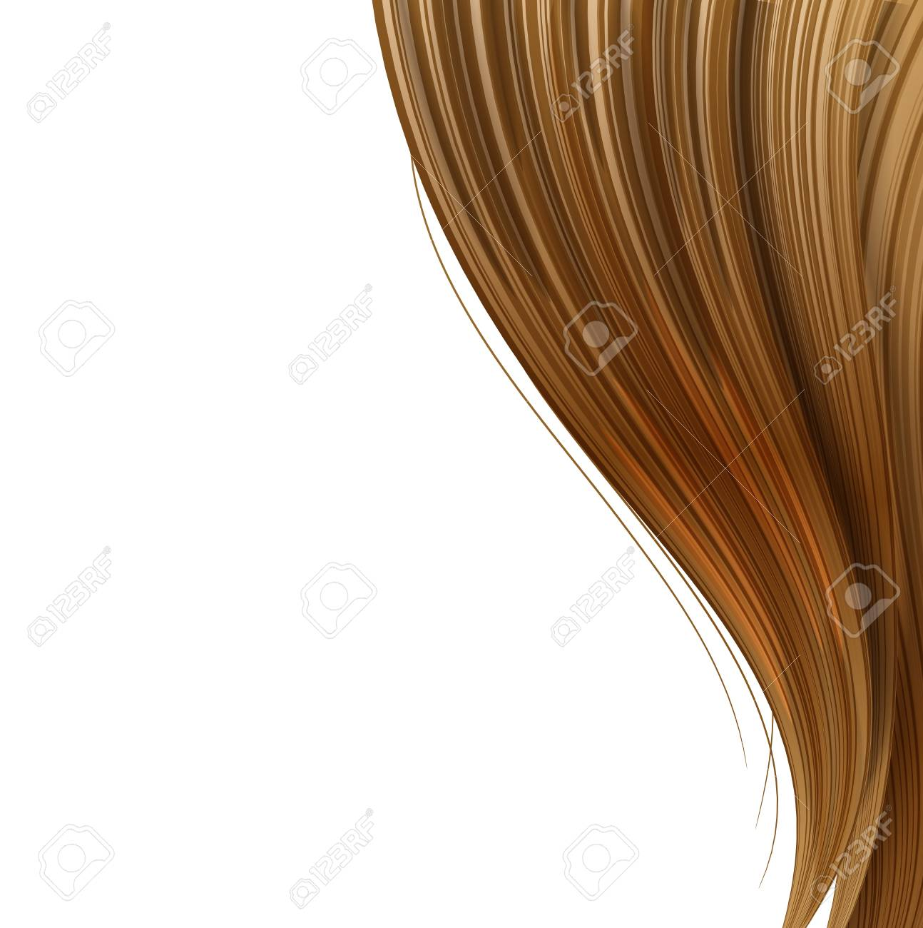 Hair style and haircare design template Stock Vector - 22182545