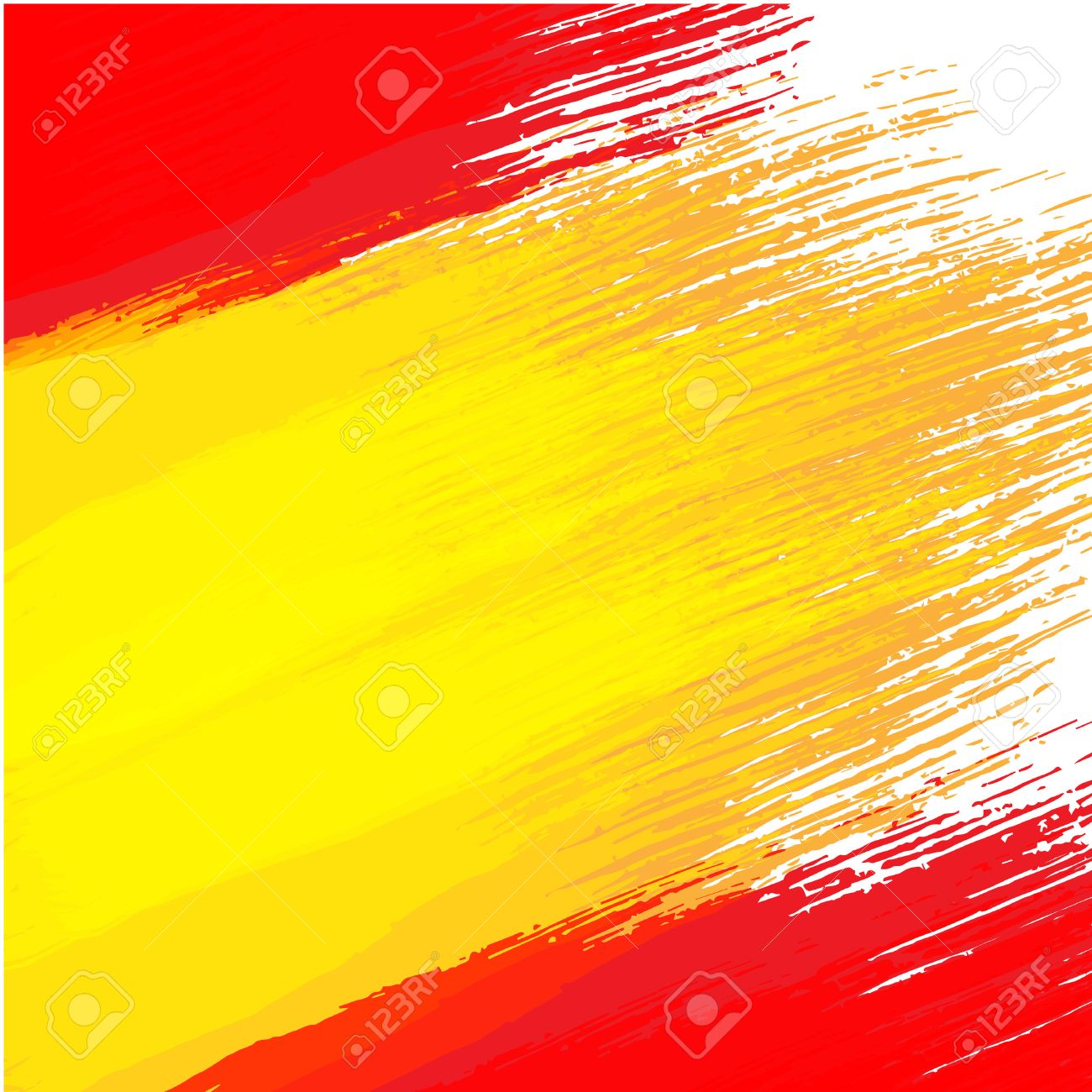 grunge background in colors of spanish flag royalty free cliparts
